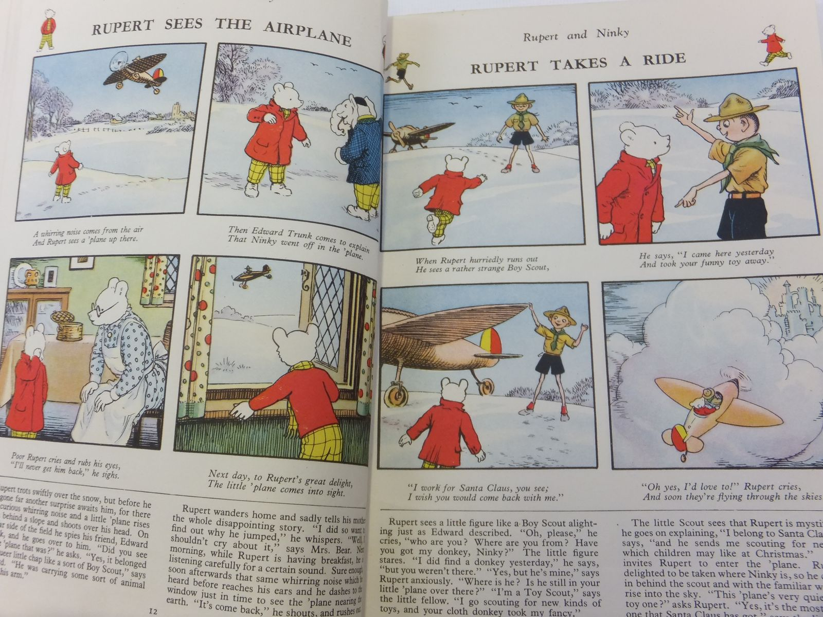 Photo of RUPERT ANNUAL 1949 written by Bestall, Alfred illustrated by Bestall, Alfred published by Daily Express (STOCK CODE: 1812273)  for sale by Stella & Rose's Books