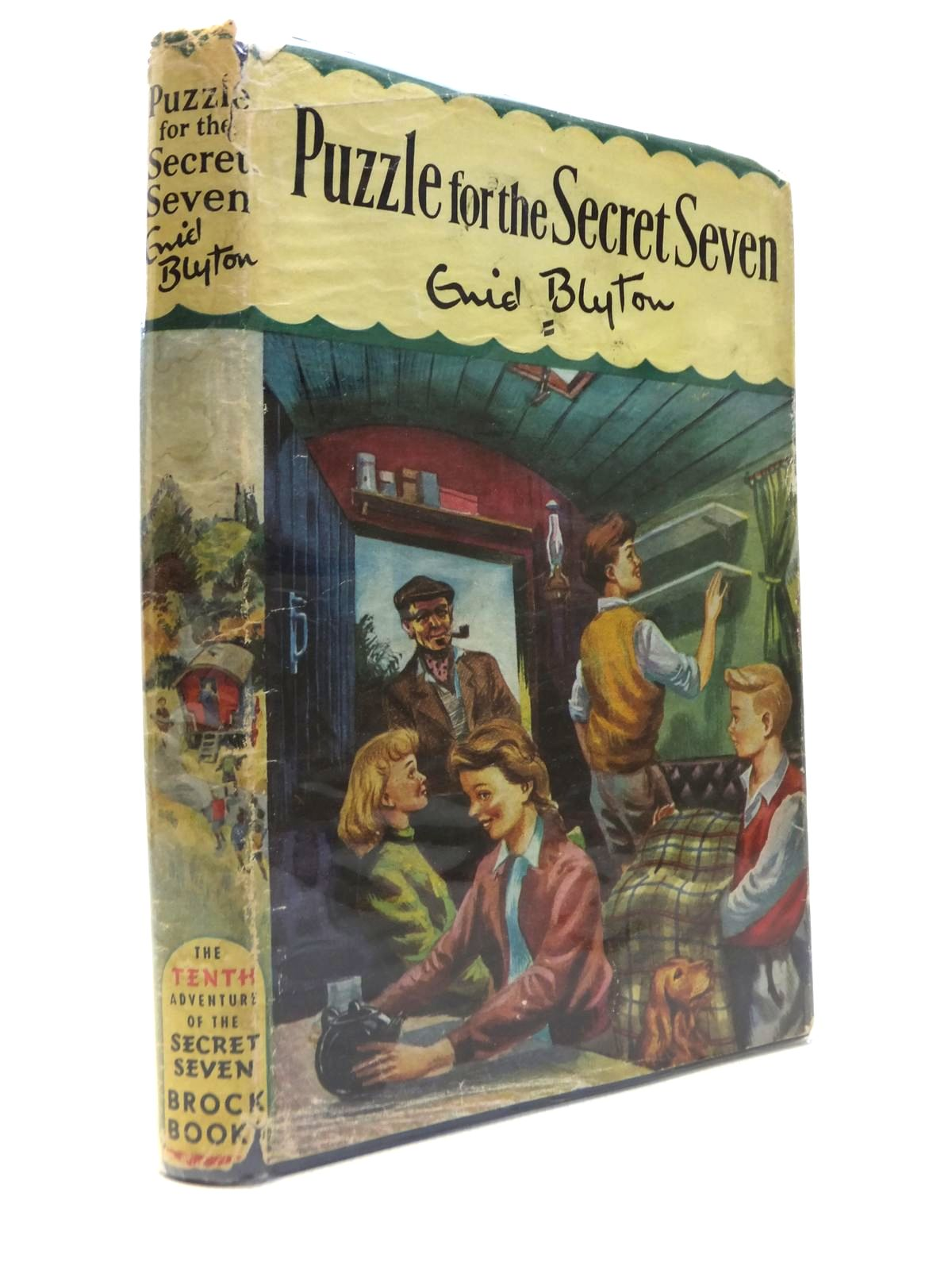 Photo of PUZZLE FOR THE SECRET SEVEN- Stock Number: 1812286