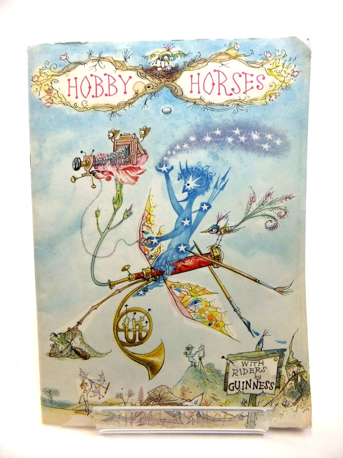 Photo of HOBBY HORSES WITH RIDERS BY GUINNESS written by Penn, Stanley illustrated by Emett, Rowland published by Guinness Publishing (STOCK CODE: 1812309)  for sale by Stella & Rose's Books