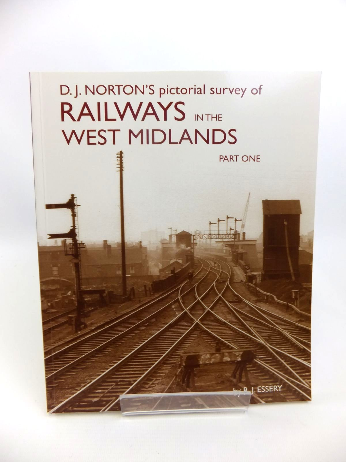 Photo of D.J. NORTON'S PICTORIAL SURVEY OF RAILWAYS IN THE WEST MIDLANDS PART ONE LMS WESTERN DIVISION LINES written by Essery, R.J. published by Wild Swan Publications (STOCK CODE: 1812398)  for sale by Stella & Rose's Books