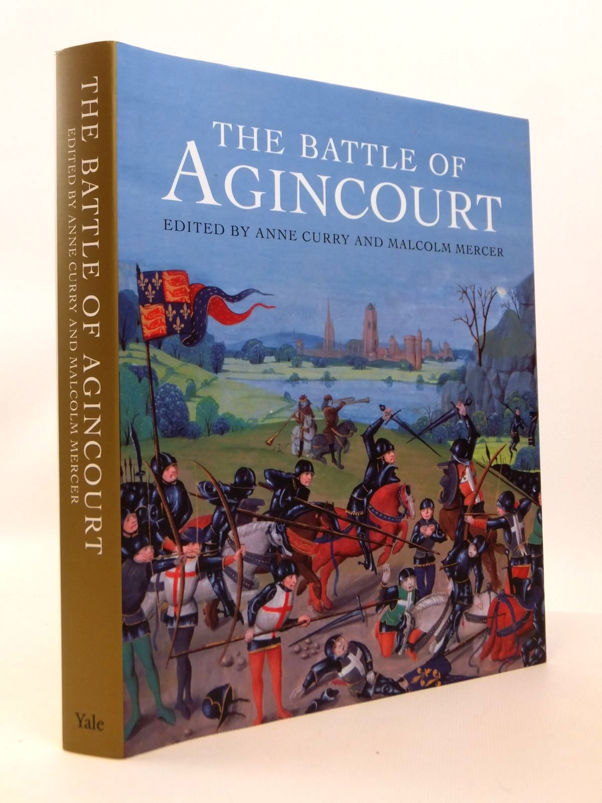 Photo of THE BATTLE OF AGINCOURT written by Curry, Anne Mercer, Malcolm published by Yale University Press (STOCK CODE: 1812544)  for sale by Stella & Rose's Books