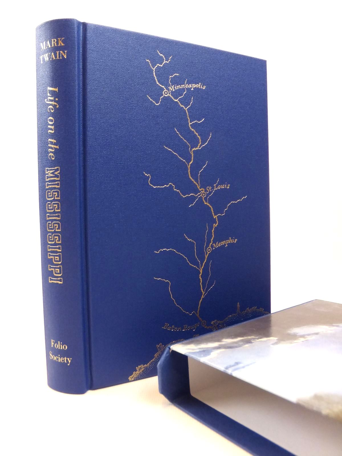 Photo of LIFE ON THE MISSISSIPPI written by Twain, Mark published by Folio Society (STOCK CODE: 1812598)  for sale by Stella & Rose's Books