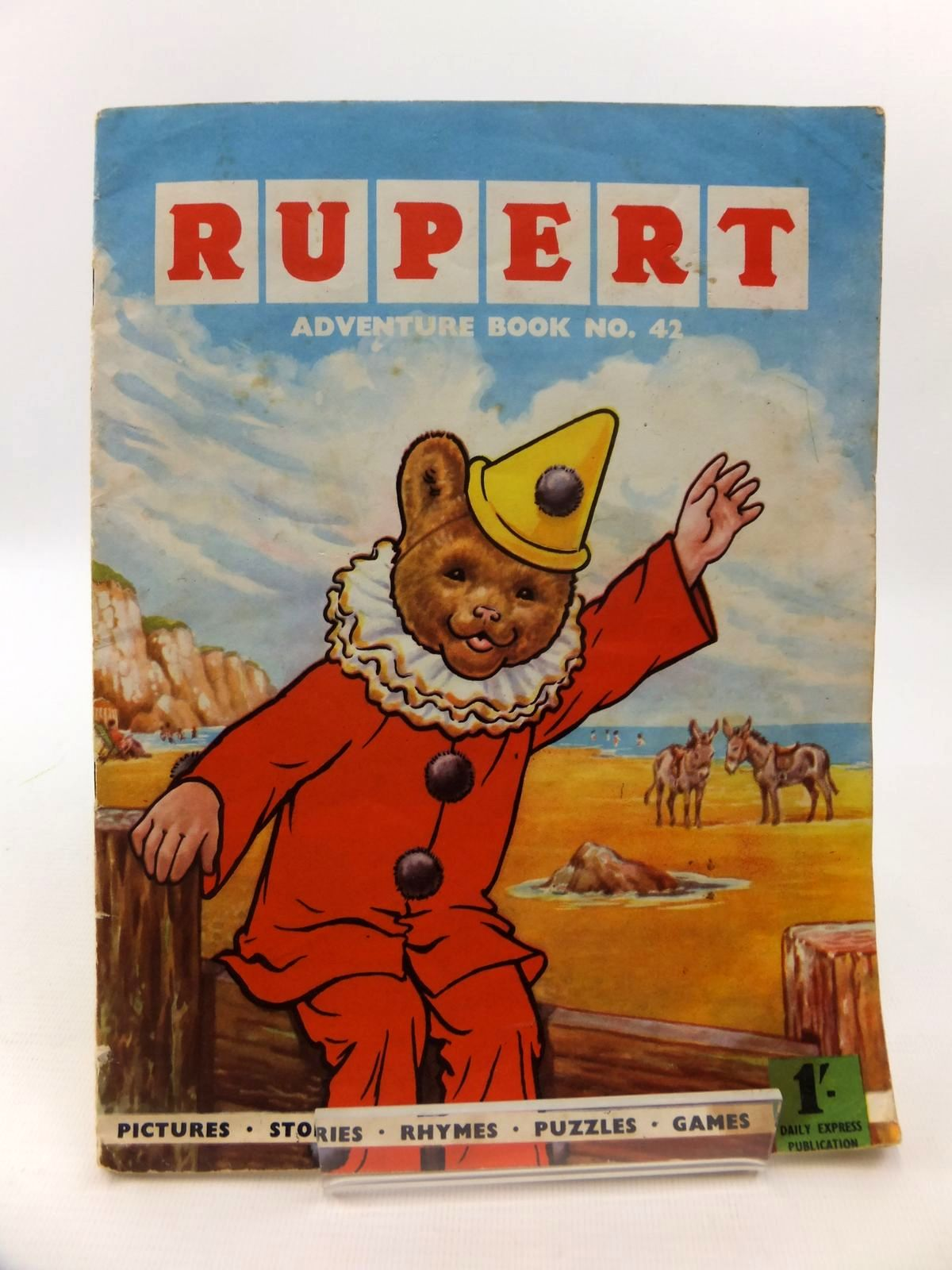 Photo of RUPERT ADVENTURE BOOK No. 42 written by Bestall, Alfred published by Daily Express (STOCK CODE: 1812700)  for sale by Stella & Rose's Books