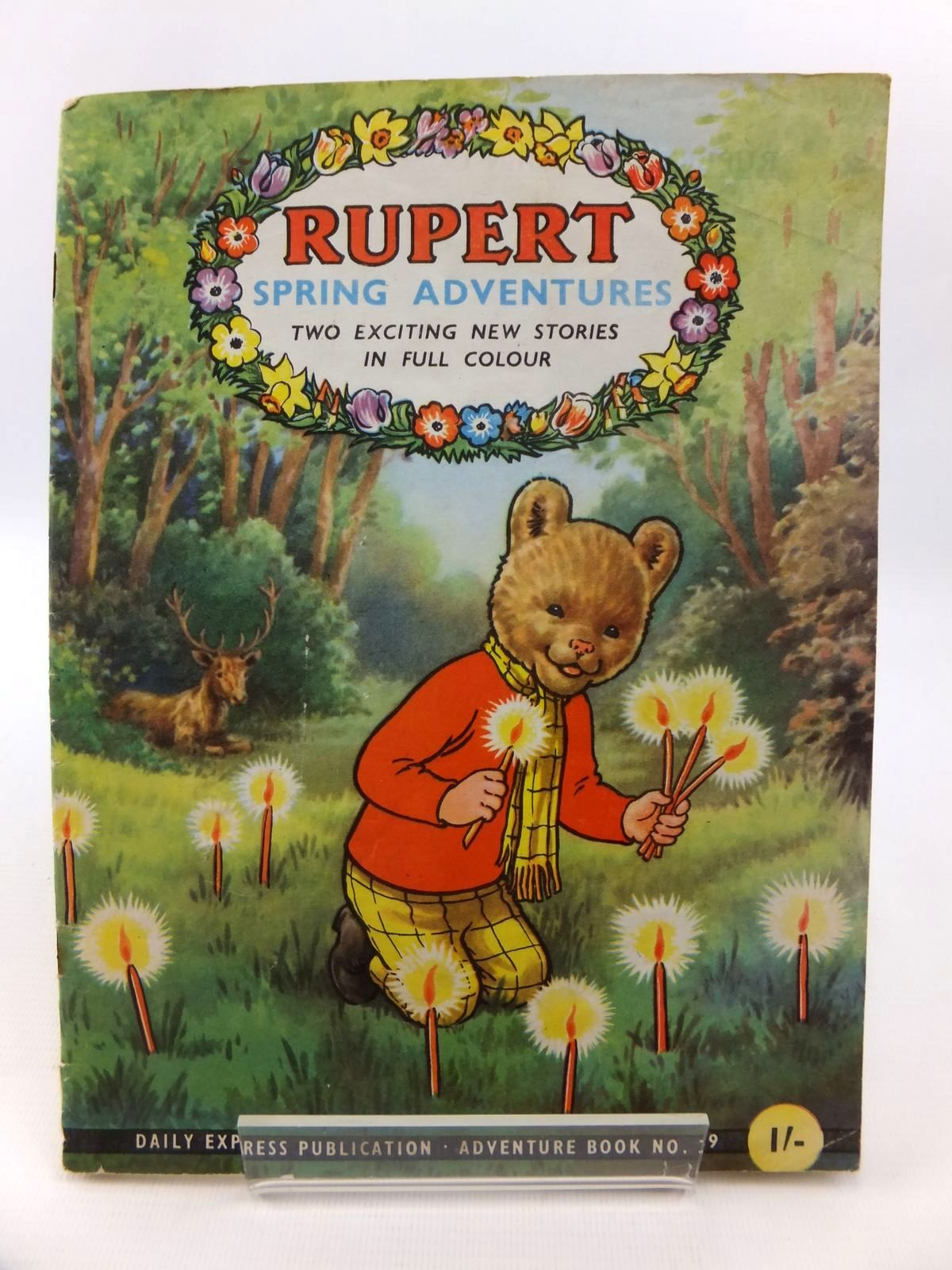 Photo of RUPERT ADVENTURE BOOK No. 39 - RUPERT SPRING ADVENTURES written by Bestall, Alfred published by Daily Express (STOCK CODE: 1812702)  for sale by Stella & Rose's Books