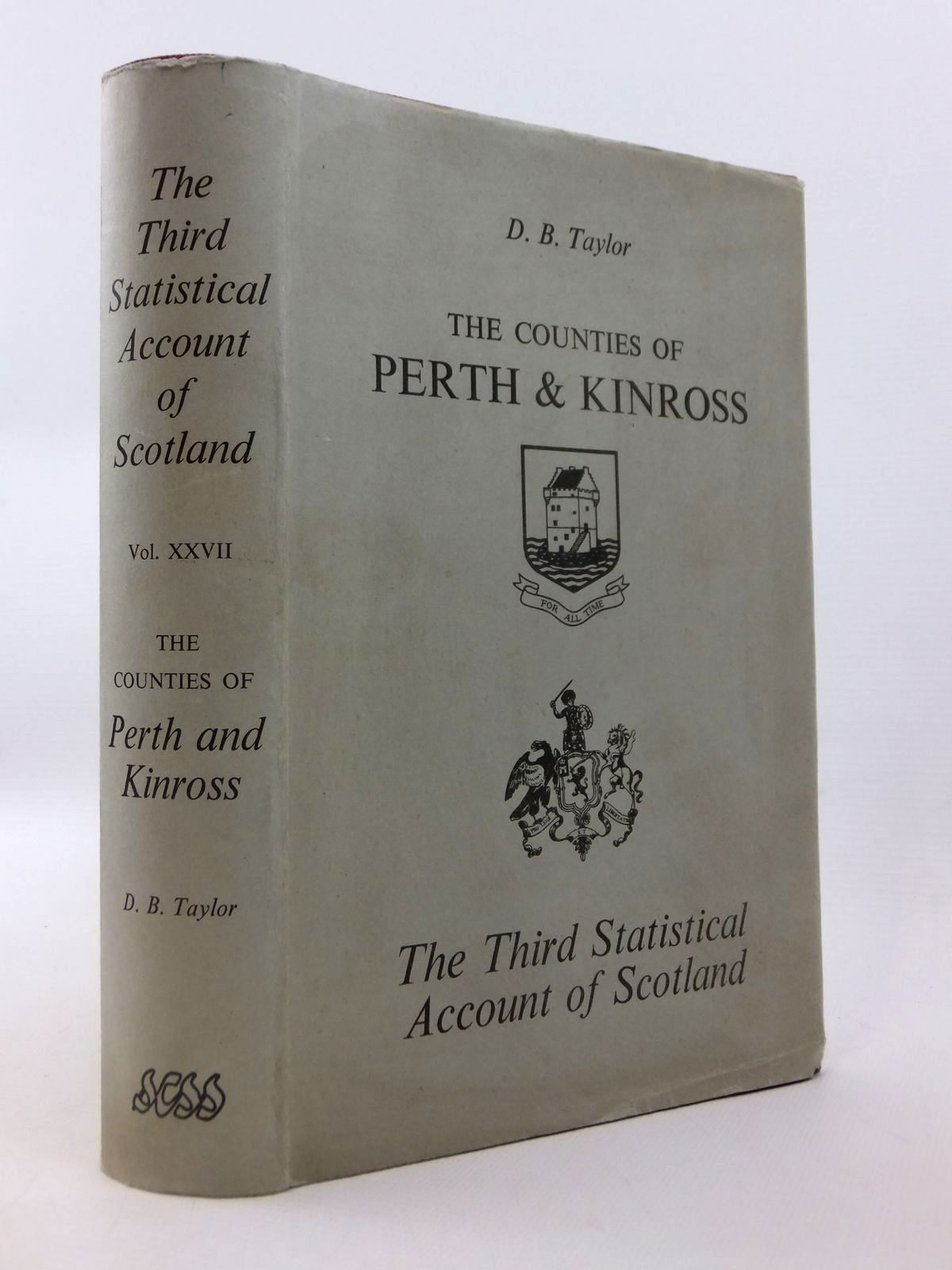 Photo of THE THIRD STATISTICAL ACCOUNT OF SCOTLAND VOL. XXVII THE COUNTIES OF PERTH AND KINROSS- Stock Number: 1812763