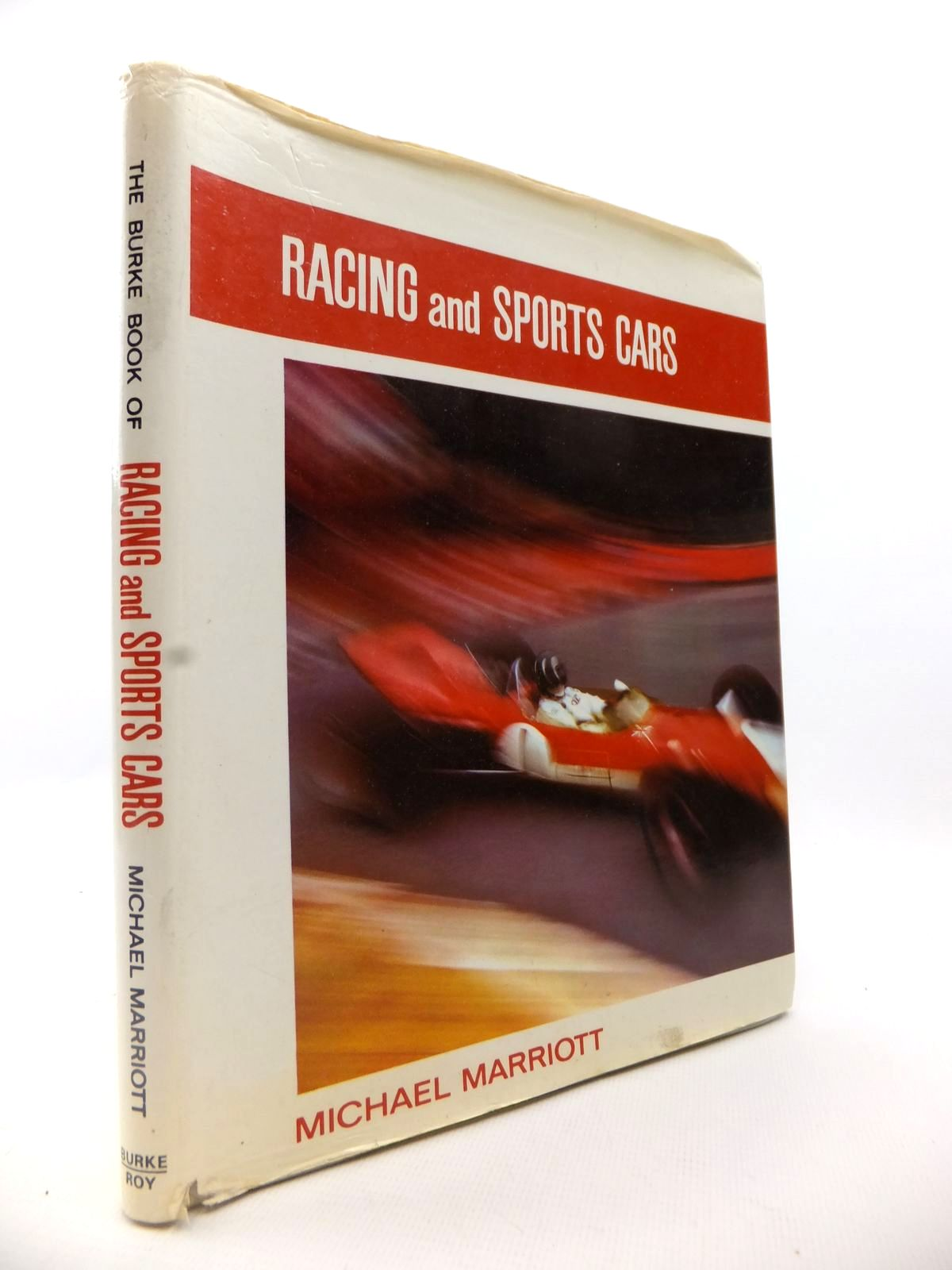 Photo of THE BURKE BOOK OF RACING AND SPORTS CARS written by Marriott, Michael published by Burke (STOCK CODE: 1812821)  for sale by Stella & Rose's Books