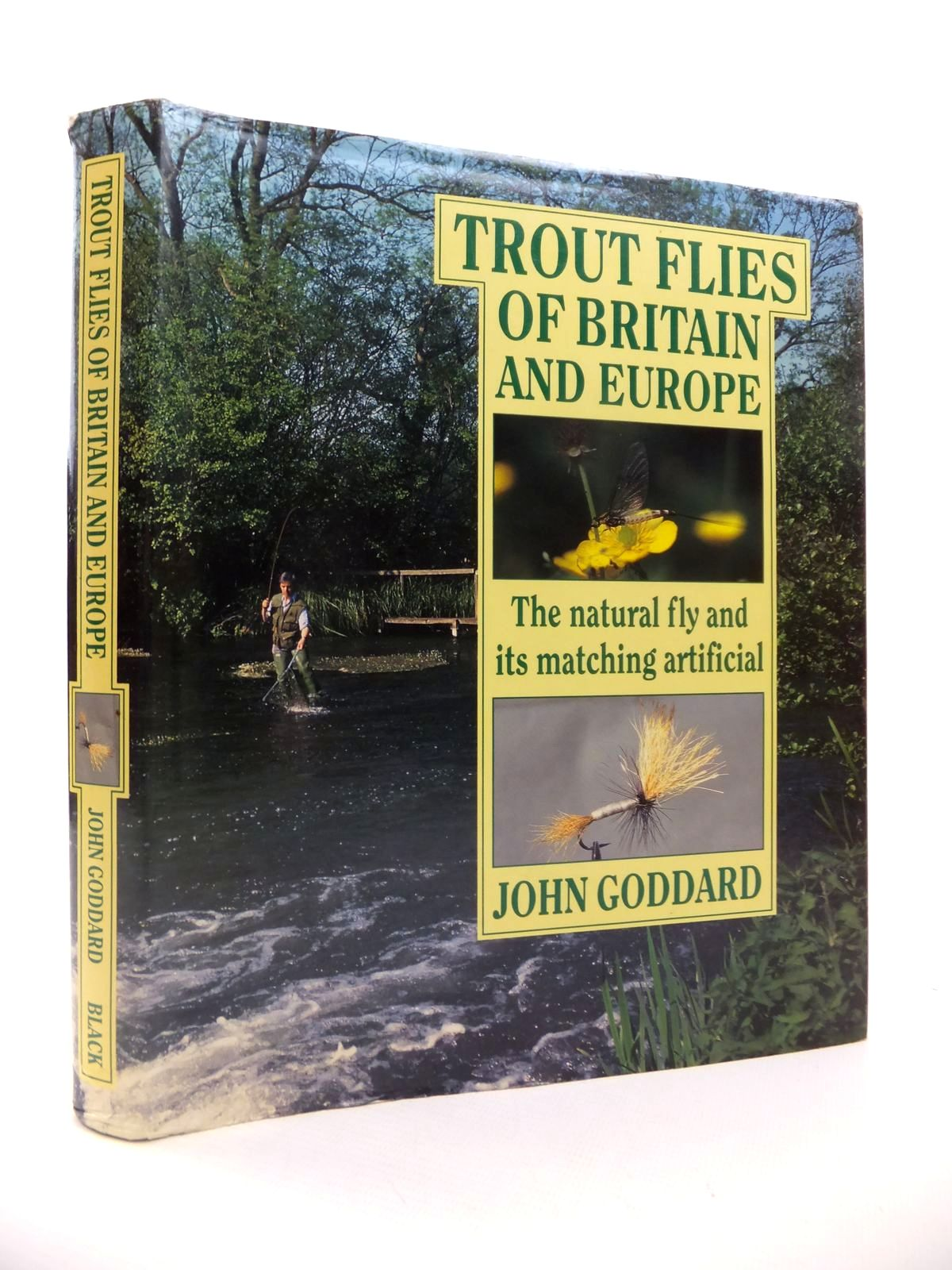 Photo of TROUT FLIES OF BRITAIN AND EUROPE: THE NATURAL FLY AND ITS MATCHING ARTIFICIAL- Stock Number: 1812855