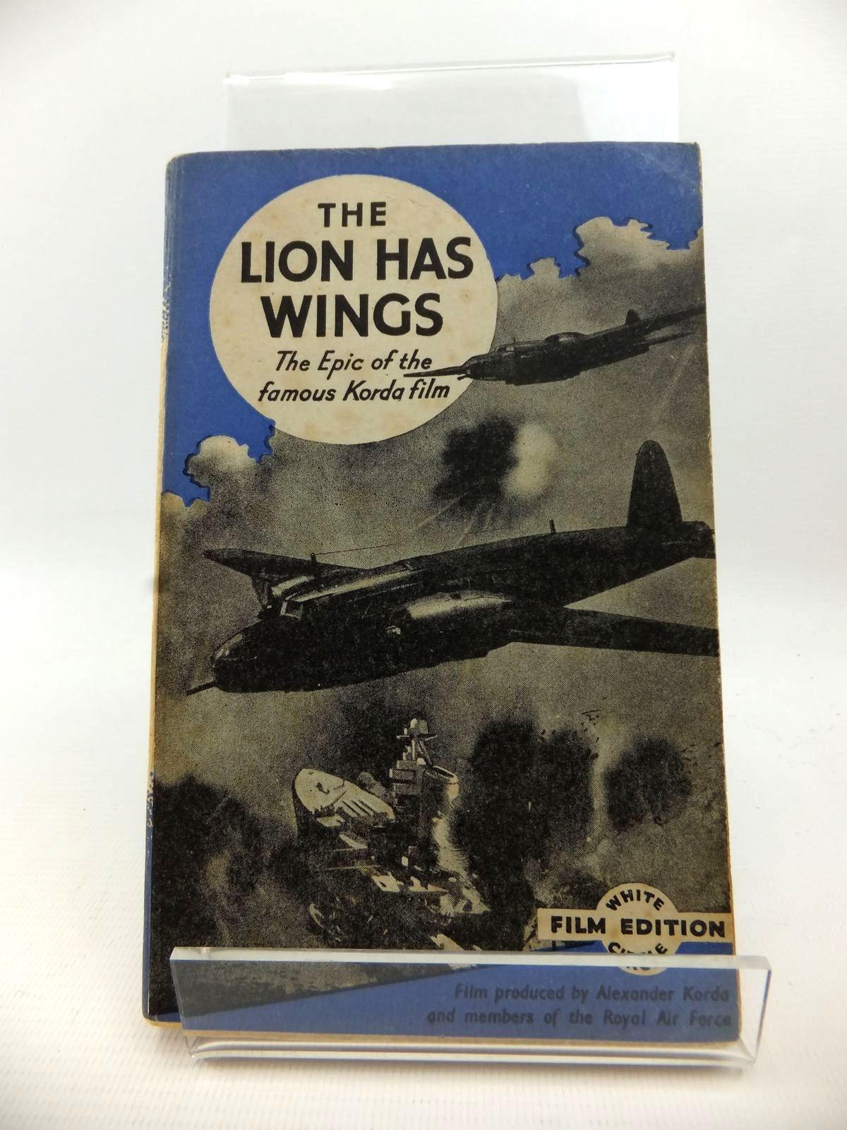 Photo of THE LION HAS WINGS written by Ware, John published by Collins (STOCK CODE: 1812965)  for sale by Stella & Rose's Books