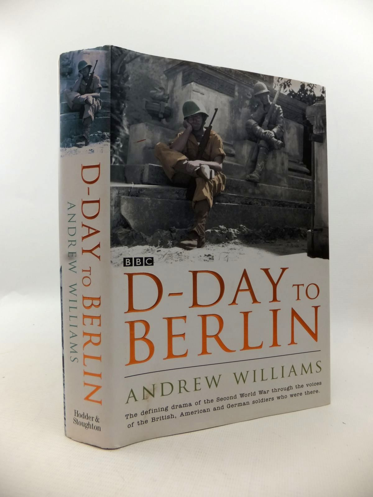 Photo of D-DAY TO BERLIN written by Williams, Andrew published by Hodder & Stoughton (STOCK CODE: 1813175)  for sale by Stella & Rose's Books