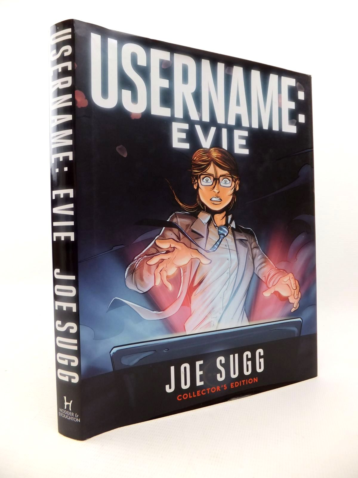 Photo of USERNAME: EVIE written by Sugg, Joe illustrated by Birdi, Amrit published by Hodder & Stoughton (STOCK CODE: 1813294)  for sale by Stella & Rose's Books