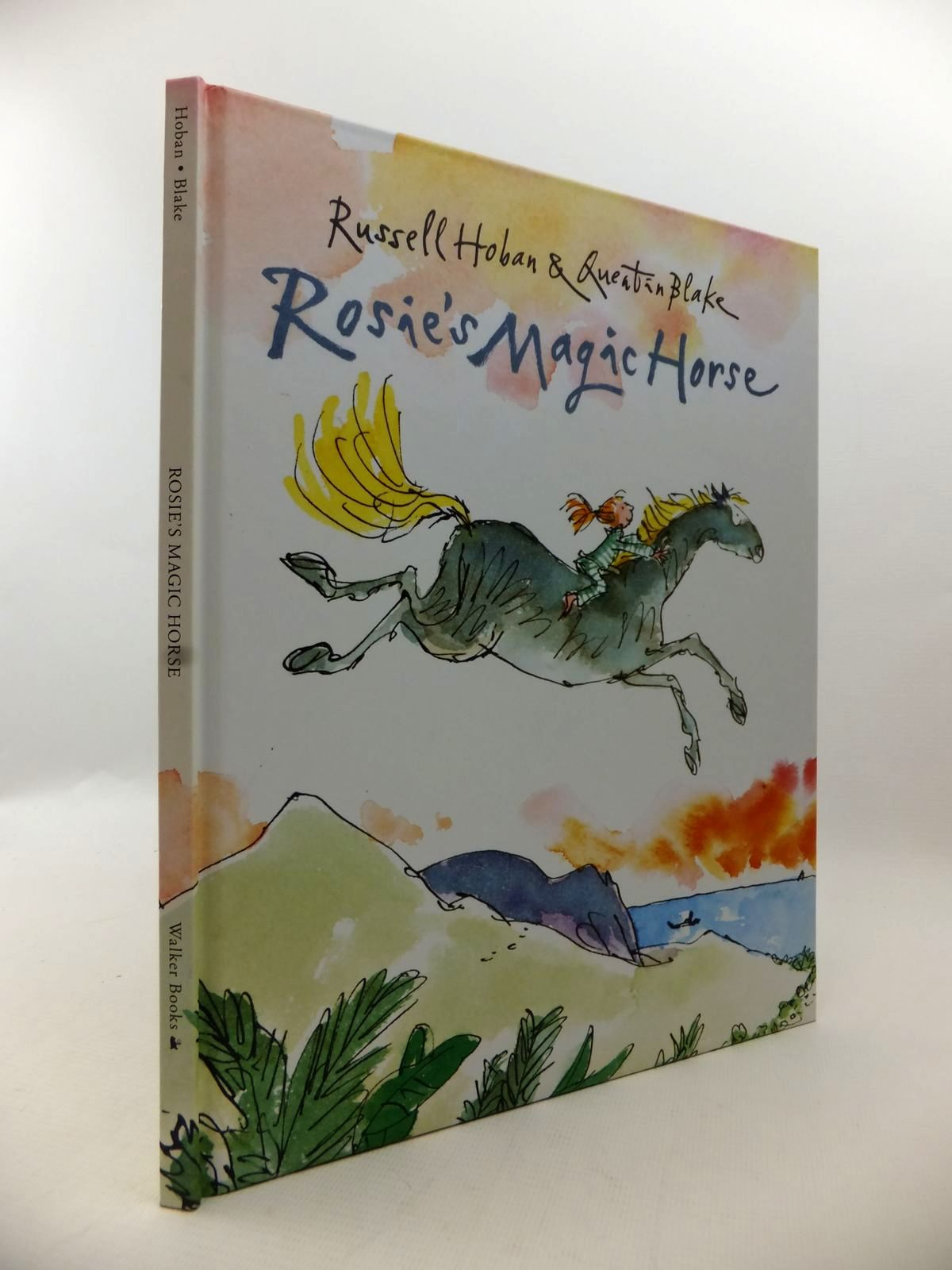 Photo of ROSIE'S MAGIC HORSE written by Hoban, Russell illustrated by Blake, Quentin published by Walker Books (STOCK CODE: 1813308)  for sale by Stella & Rose's Books
