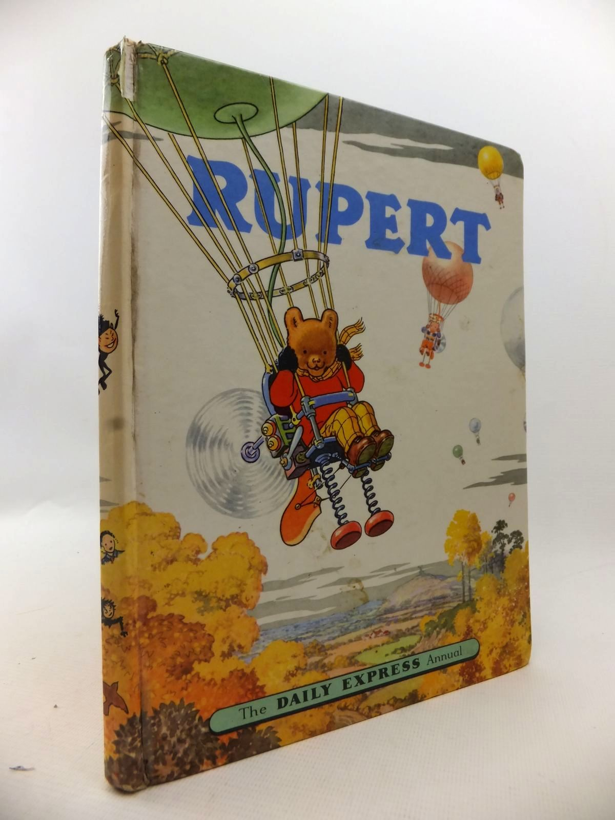 Photo of RUPERT ANNUAL 1957 written by Bestall, Alfred illustrated by Bestall, Alfred published by Daily Express (STOCK CODE: 1813470)  for sale by Stella & Rose's Books
