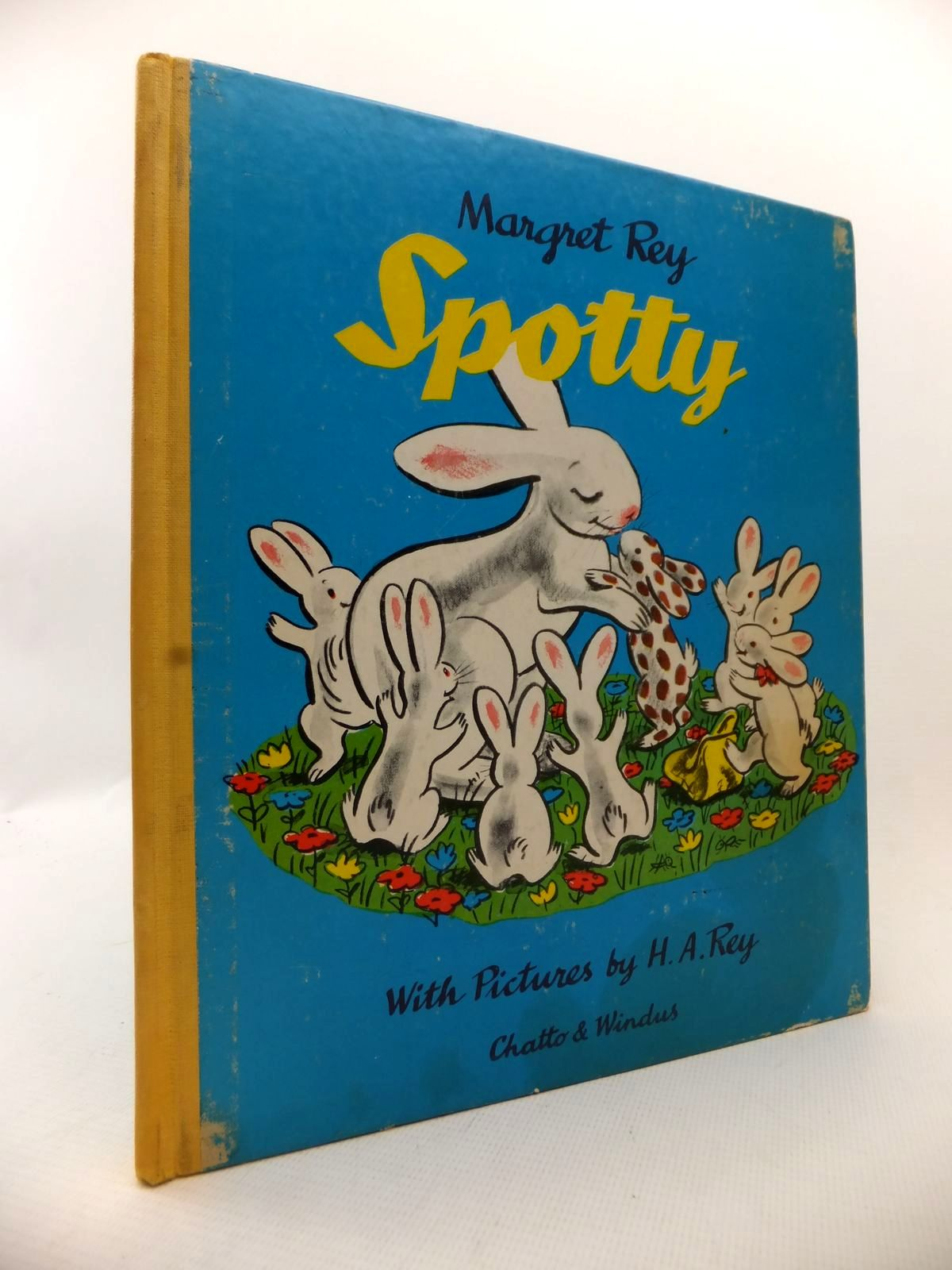 Photo of SPOTTY written by Rey, Margaret illustrated by Rey, H.A. published by Chatto & Windus (STOCK CODE: 1813606)  for sale by Stella & Rose's Books
