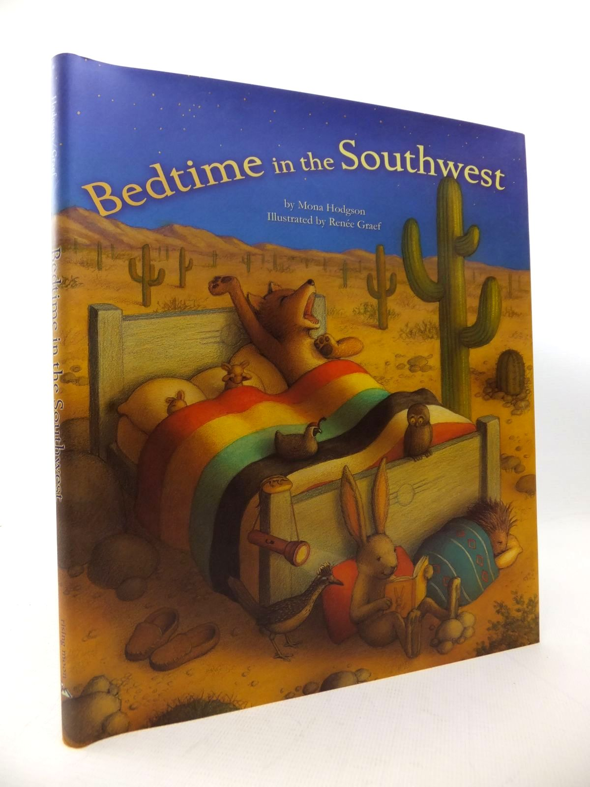 Photo of BEDTIME IN THE SOUTHWEST written by Hodgson, Mona illustrated by Graef, Renee published by Rising Moon (STOCK CODE: 1813894)  for sale by Stella & Rose's Books