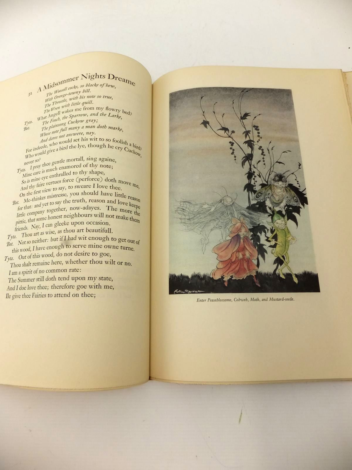 Photo of A MIDSUMMER NIGHT'S DREAM written by Shakespeare, William illustrated by Rackham, Arthur published by The Limited Editions Club (STOCK CODE: 1814113)  for sale by Stella & Rose's Books