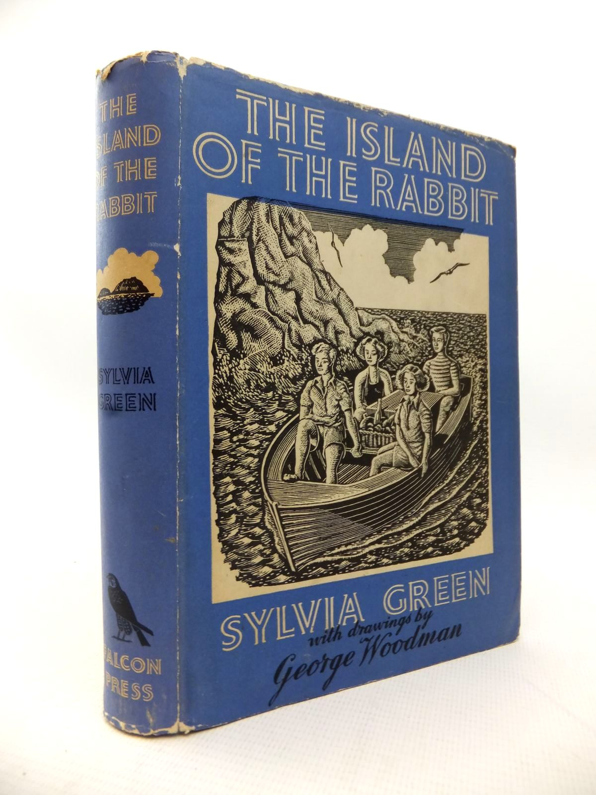 Photo of THE ISLAND OF THE RABBIT written by Green, Sylvia illustrated by Woodman, George published by The Falcon Press Ltd. (STOCK CODE: 1814130)  for sale by Stella & Rose's Books