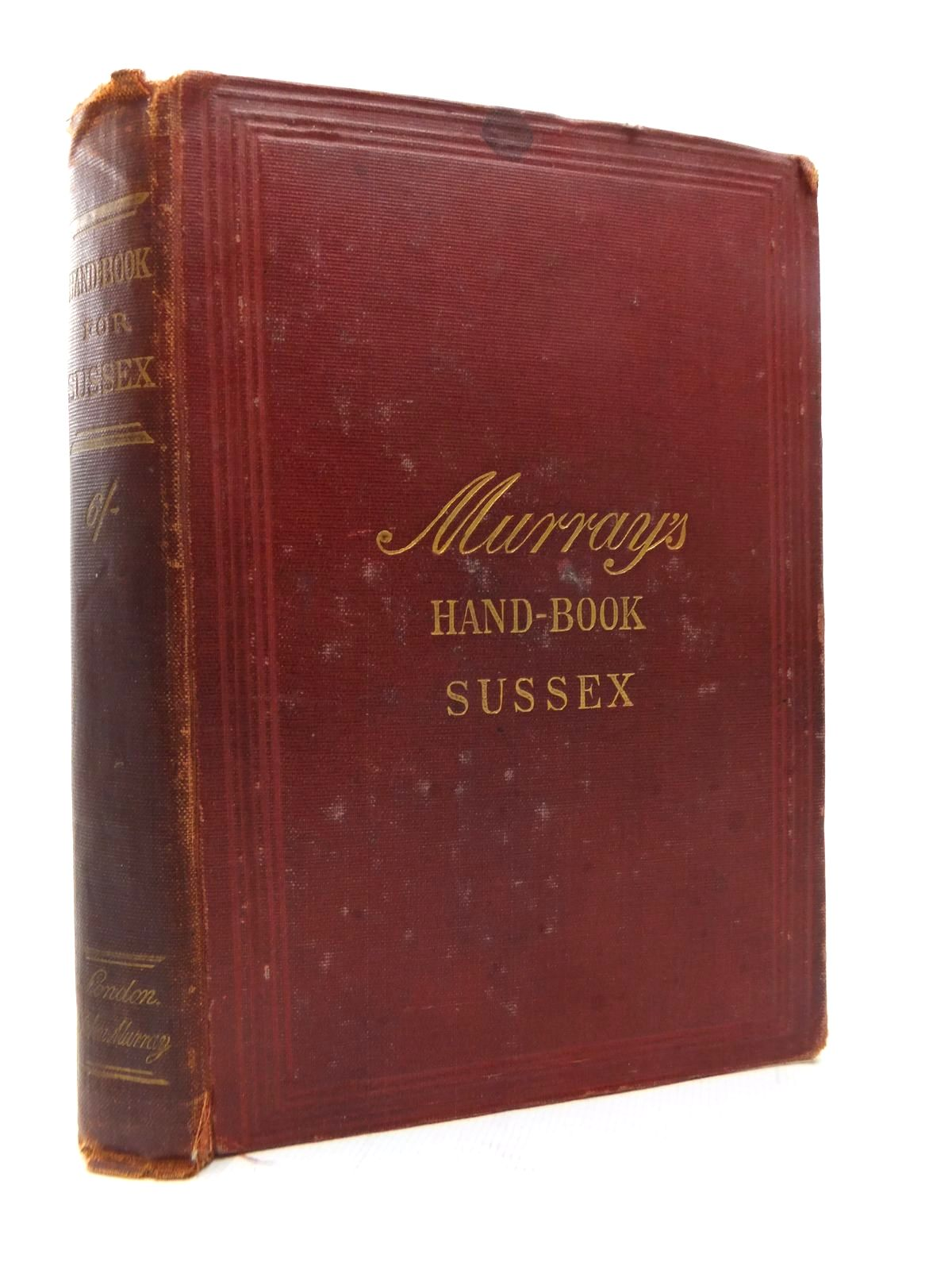 Photo of HANDBOOK FOR TRAVELLERS IN SUSSEX- Stock Number: 1814229