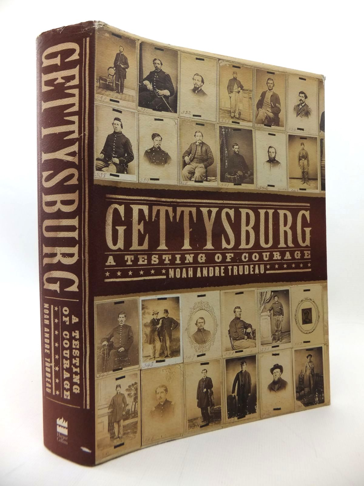 Photo of GETTYSBURG: A TESTING OF COURAGE written by Trudeau, Noah Andre published by Harpercollins Publishers Ltd (STOCK CODE: 1814242)  for sale by Stella & Rose's Books
