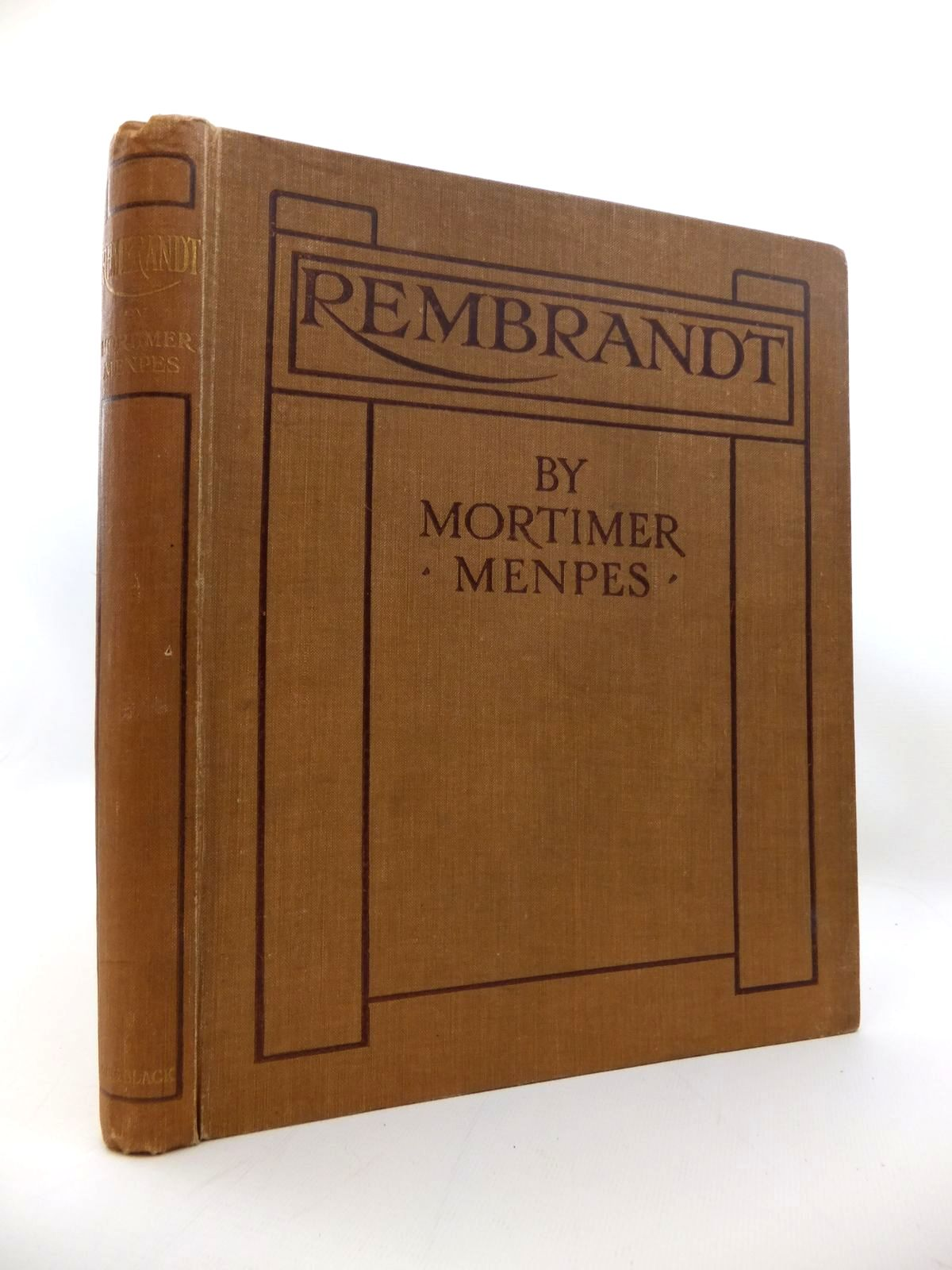 Photo of REMBRANDT written by Menpes, Mortimer<br />Hind, C. Lewis illustrated by Rembrandt,  published by Adam &amp; Charles Black (STOCK CODE: 1814271)  for sale by Stella & Rose's Books