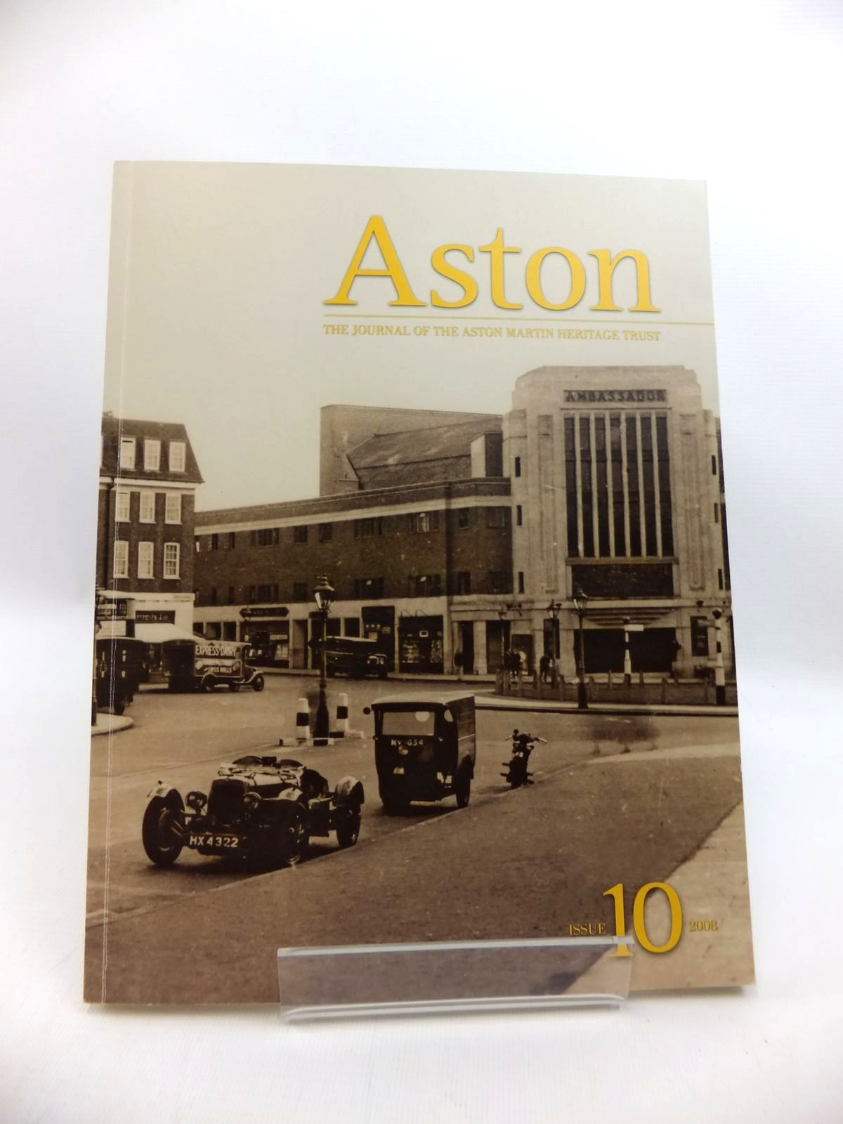 Photo of ASTON: THE JOURNAL OF THE ASTON MARTIN HERITAGE TRUST ISSUE 10 2008 published by Aston Martin (STOCK CODE: 1814274)  for sale by Stella & Rose's Books
