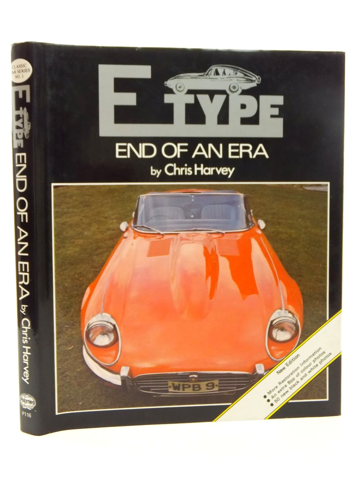 Photo of E TYPE: END OF AN ERA written by Harvey, Chris published by Oxford Illustrated Press, Haynes (STOCK CODE: 1814336)  for sale by Stella & Rose's Books