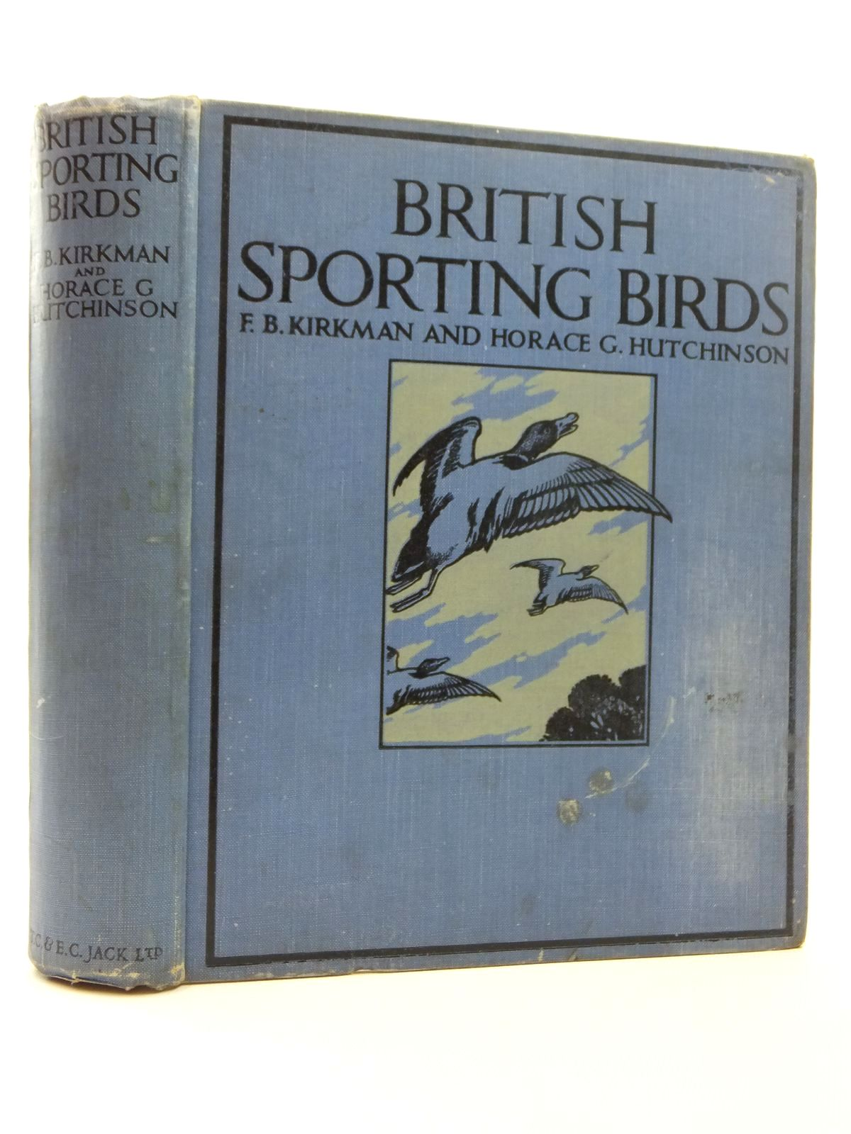 Photo of BRITISH SPORTING BIRDS written by Kirkman, F.B.<br />Hutchinson, Horace G. illustrated by Lodge, G.E.<br />Seaby, Allen W. published by T.C. &amp; E.C. Jack Ltd. (STOCK CODE: 1814337)  for sale by Stella & Rose's Books
