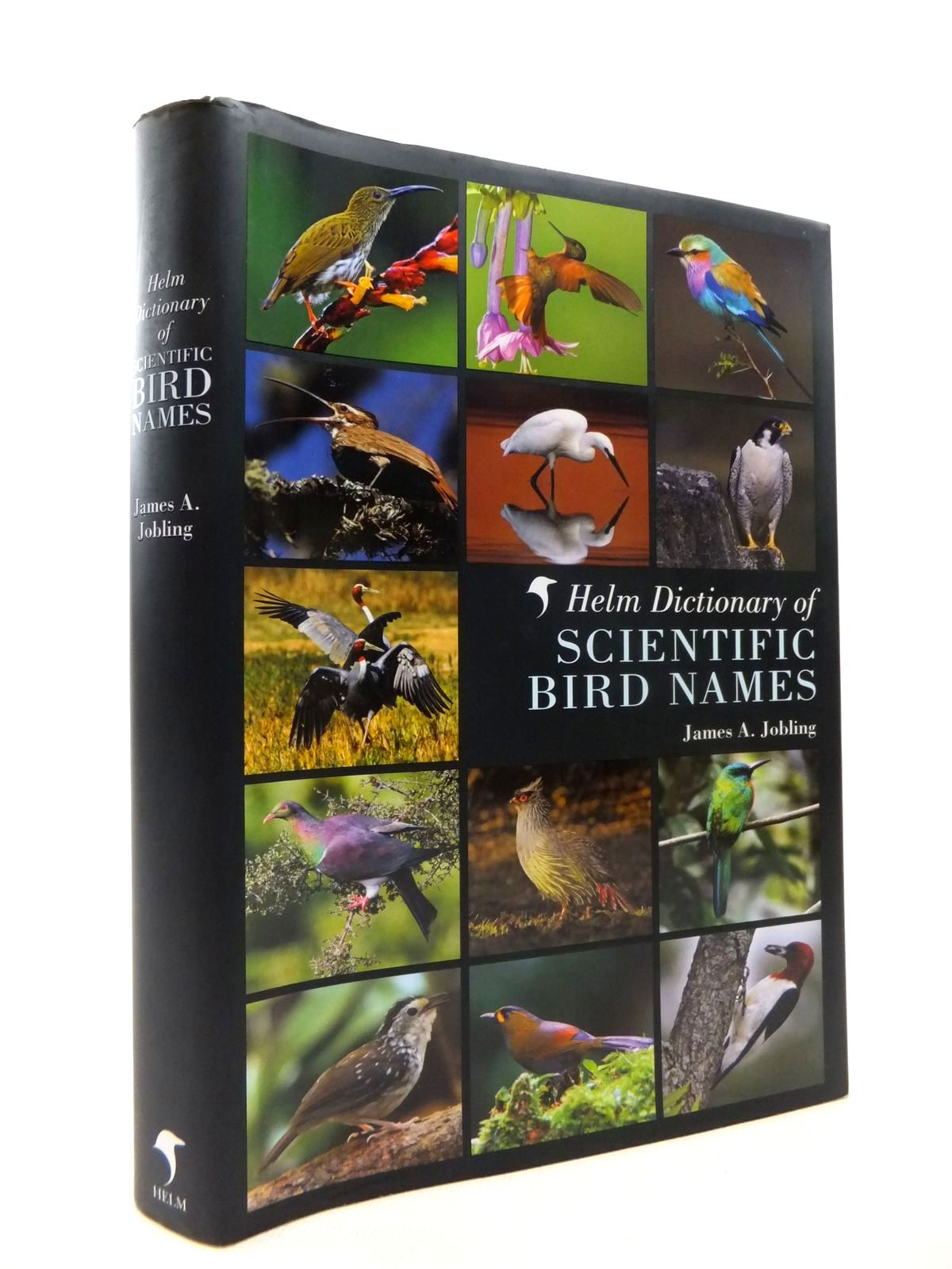 Photo of THE HELM DICTIONARY OF SCIENTIFIC BIRD NAMES: FROM AALGE TO ZUSII- Stock Number: 1814435