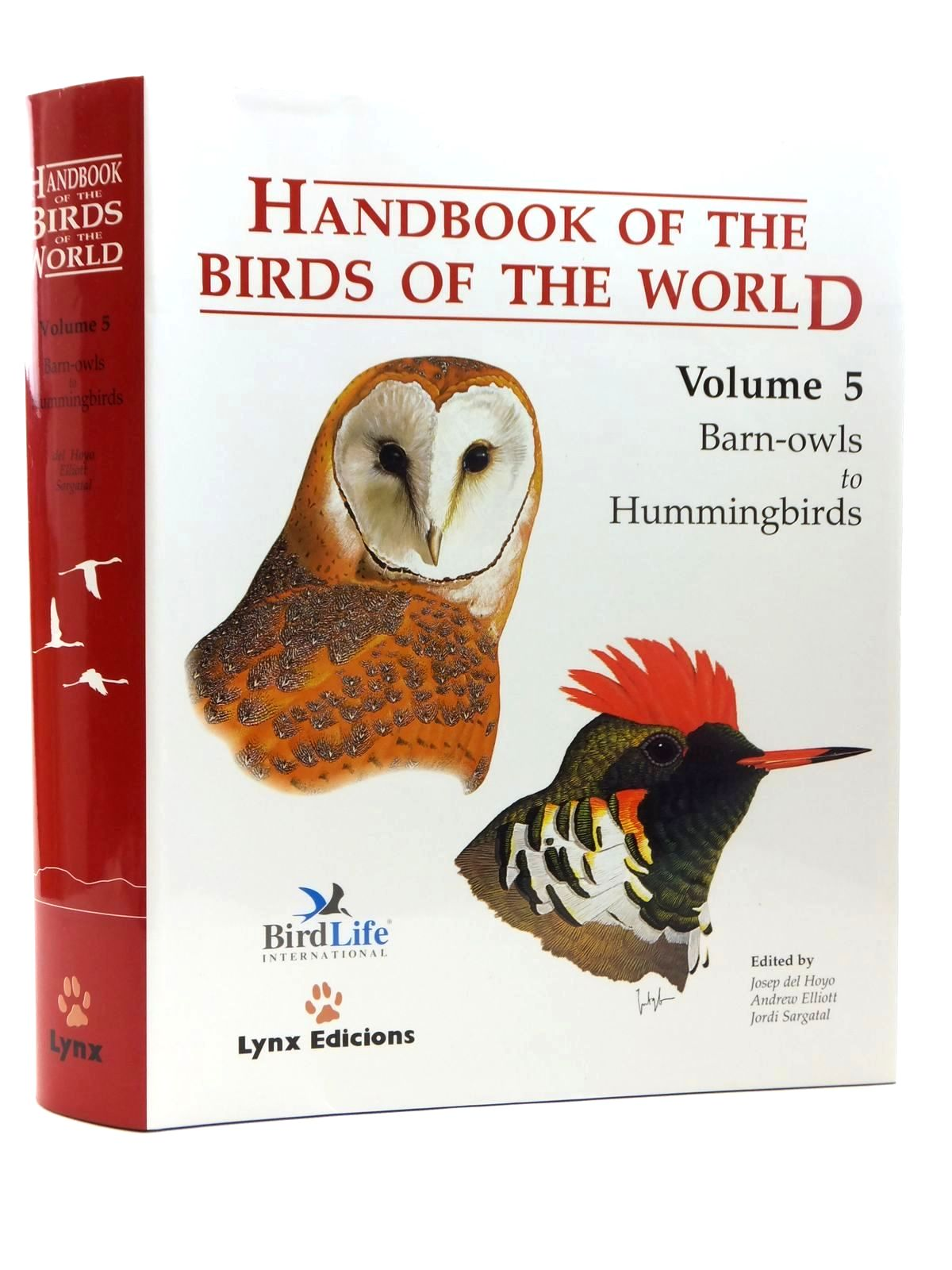Photo of HANDBOOK OF THE BIRDS OF THE WORLD VOLUME 5: BARN-OWLS TO HUMMINGBIRDS- Stock Number: 1814452