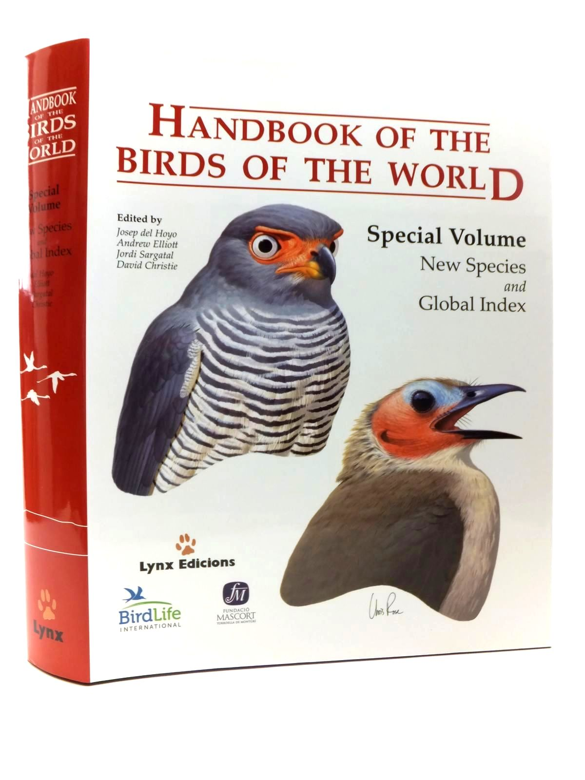 Photo of HANDBOOK OF THE BIRDS OF THE WORLD SPECIAL VOLUME: NEW SPECIES AND GLOBAL INDEX- Stock Number: 1814453