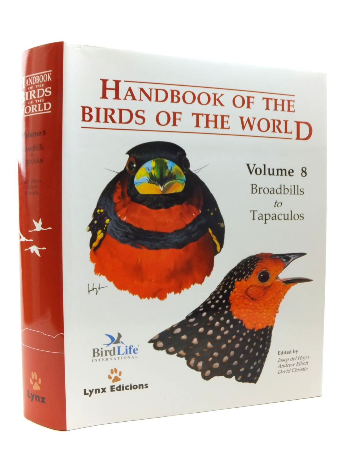 Photo of HANDBOOK OF THE BIRDS OF THE WORLD VOLUME 8: BROADBILLS TO TAPACULOS- Stock Number: 1814455