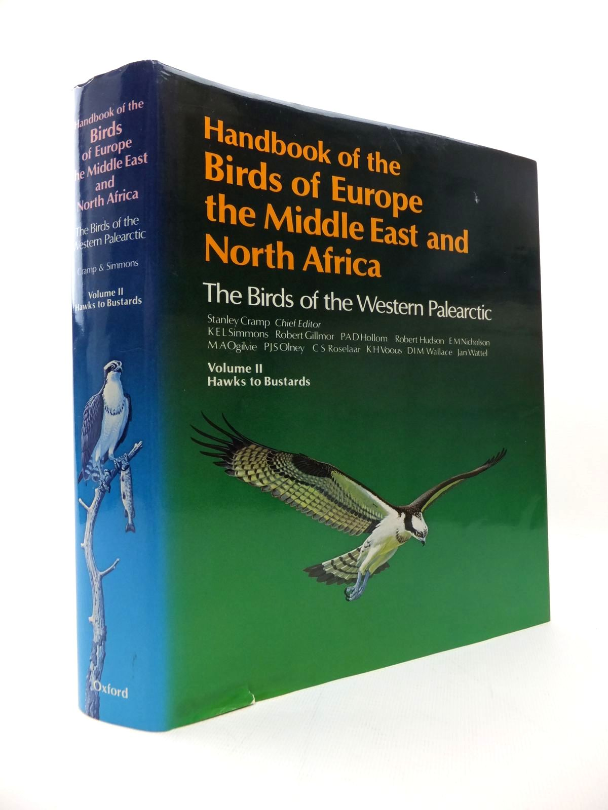 Photo of HANDBOOK OF THE BIRDS OF EUROPE THE MIDDLE EAST AND NORTH AFRICA VOLUME II HAWKS TO BUSTARDS written by Cramp, Stanley et al,  illustrated by Coombs, C.J.F. Hayman, Peter Willis, Ian published by Oxford University Press (STOCK CODE: 1814498)  for sale by Stella & Rose's Books