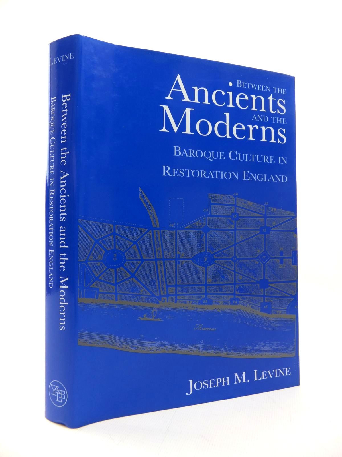 Photo of BETWEEN THE ANCIENTS AND THE MODERNS: BAROQUE CULTURE IN RESTORATION ENGLAND- Stock Number: 1814566