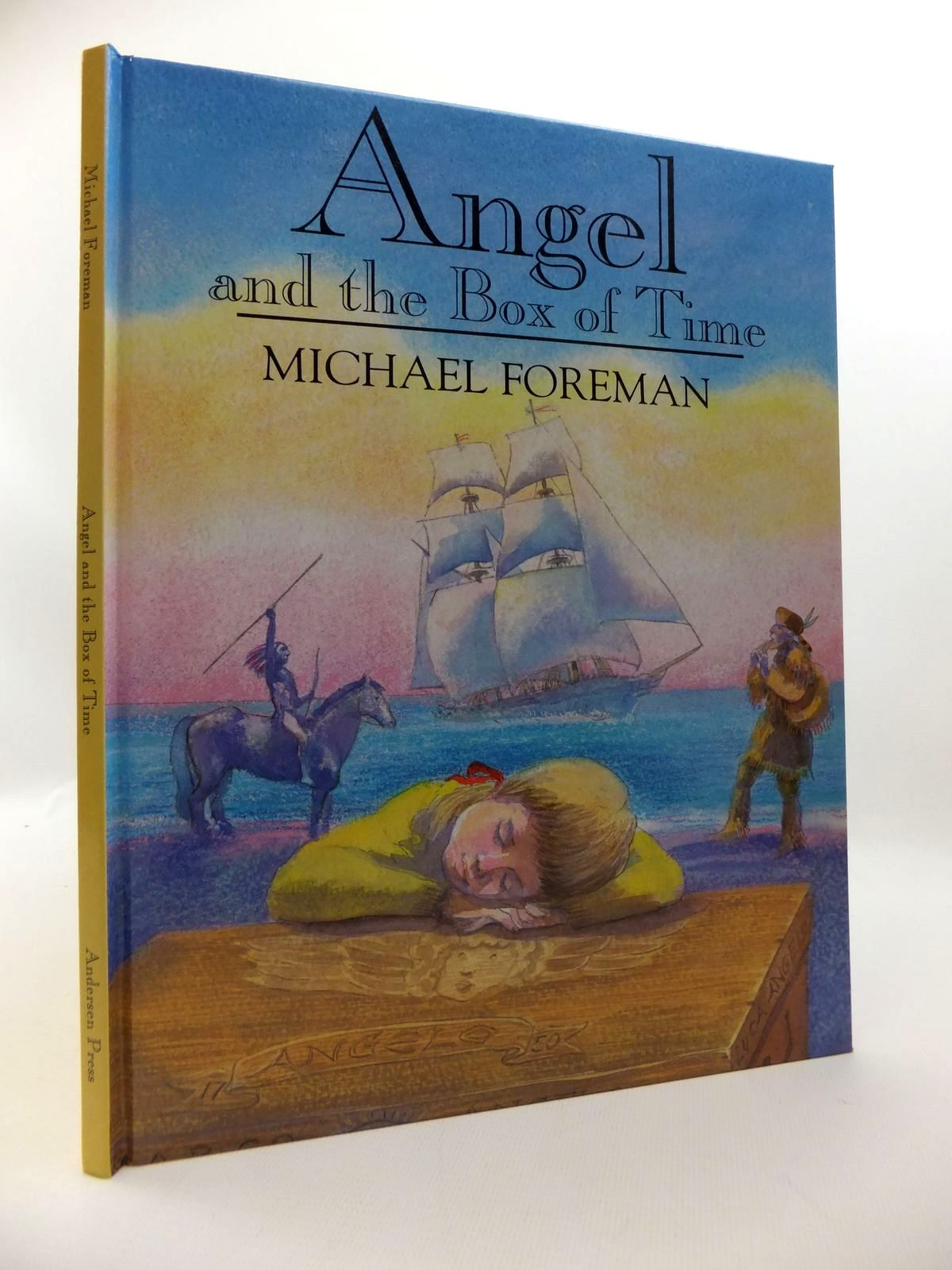 Photo of ANGEL AND THE BOX OF TIME written by Foreman, Michael illustrated by Foreman, Michael published by Andersen Press (STOCK CODE: 1814596)  for sale by Stella & Rose's Books