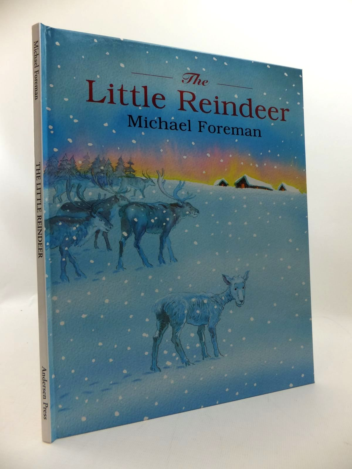 Photo of THE LITTLE REINDEER written by Foreman, Michael illustrated by Foreman, Michael published by Andersen Press (STOCK CODE: 1814597)  for sale by Stella & Rose's Books