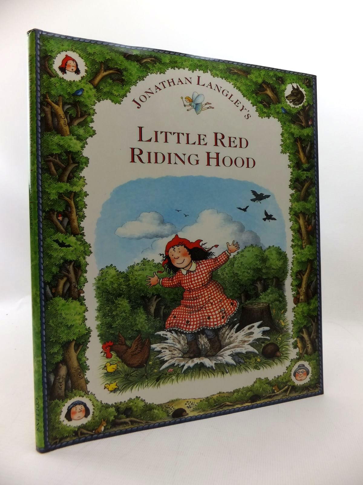 Photo of LITTLE RED RIDING HOOD written by Grimm, Brothers<br />Langley, Jonathan illustrated by Langley, Jonathan published by Collins (STOCK CODE: 1814598)  for sale by Stella & Rose's Books