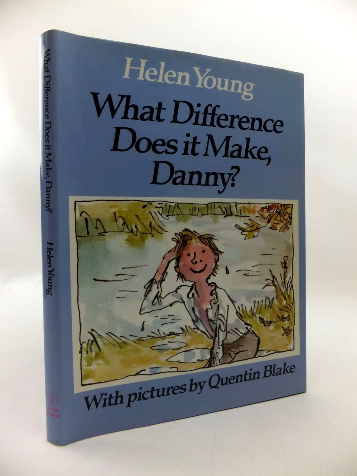 Photo of WHAT DIFFERENCE DOES IT MAKE, DANNY? written by Young, Helen illustrated by Blake, Quentin published by Andre Deutsch (STOCK CODE: 1814619)  for sale by Stella & Rose's Books