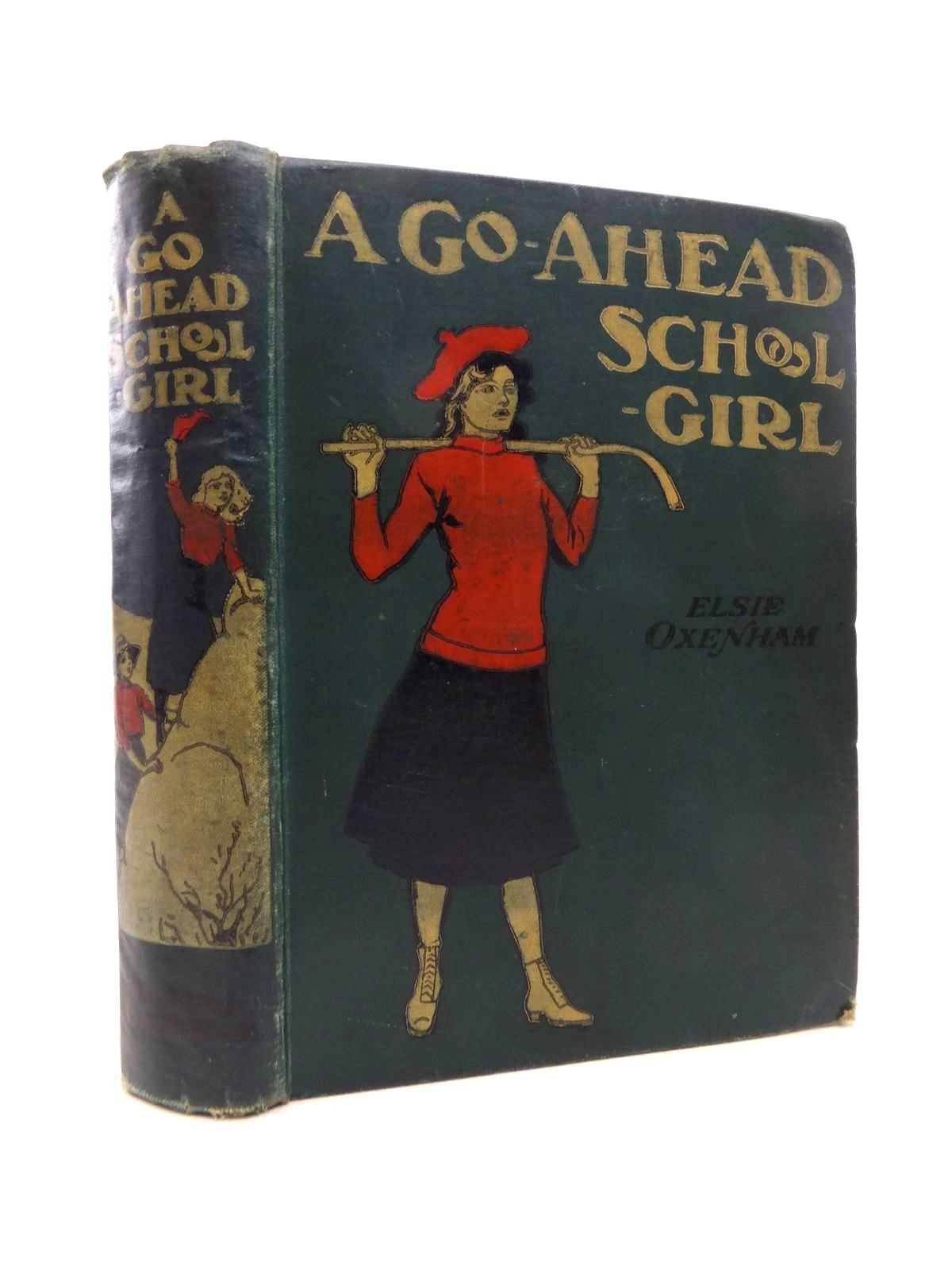 Photo of A GO-AHEAD SCHOOLGIRL- Stock Number: 1814714