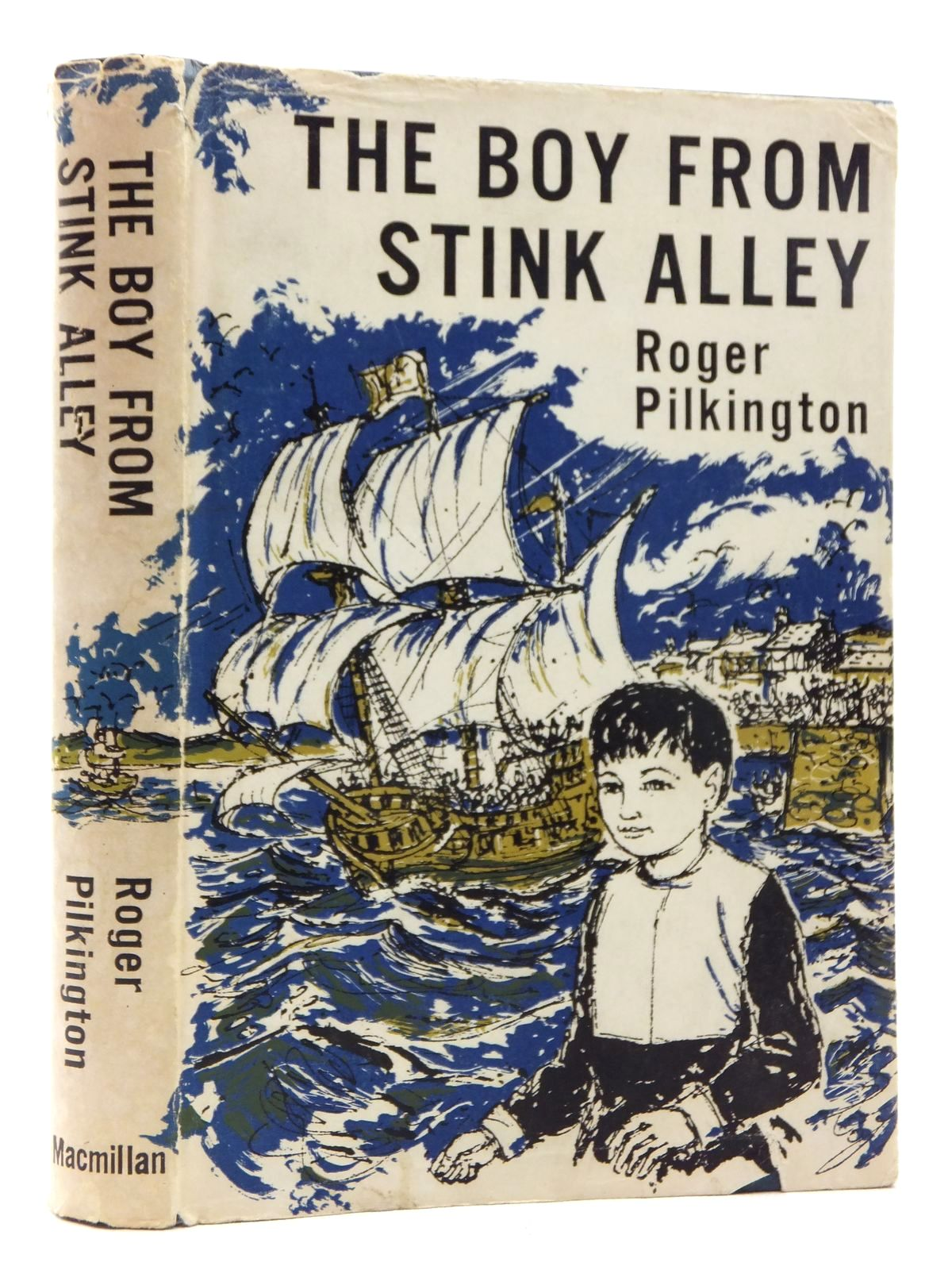 Photo of THE BOY FROM STINK ALLEY written by Pilkington, Roger illustrated by Bissett, Douglas published by MacMillan (STOCK CODE: 1814772)  for sale by Stella & Rose's Books