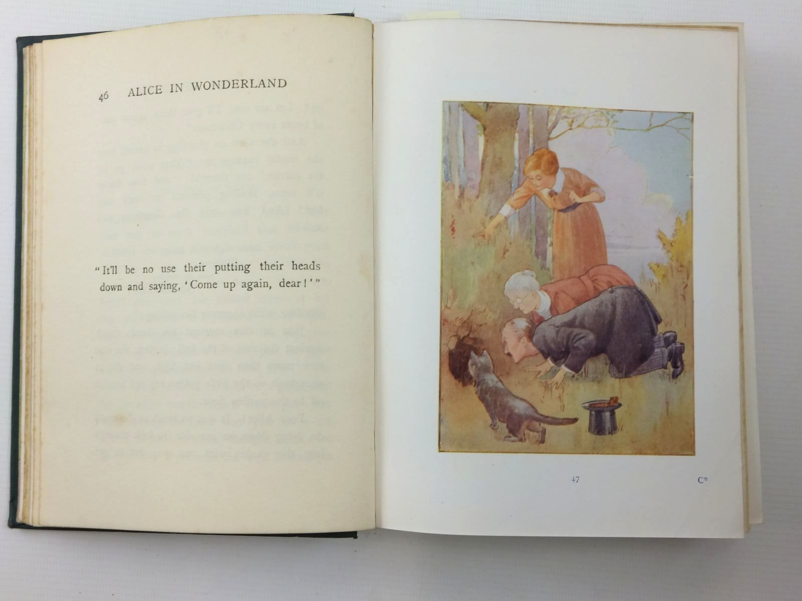 Photo of ALICE'S ADVENTURES IN WONDERLAND written by Carroll, Lewis illustrated by Tarrant, Margaret published by Ward, Lock & Co. (STOCK CODE: 1814802)  for sale by Stella & Rose's Books