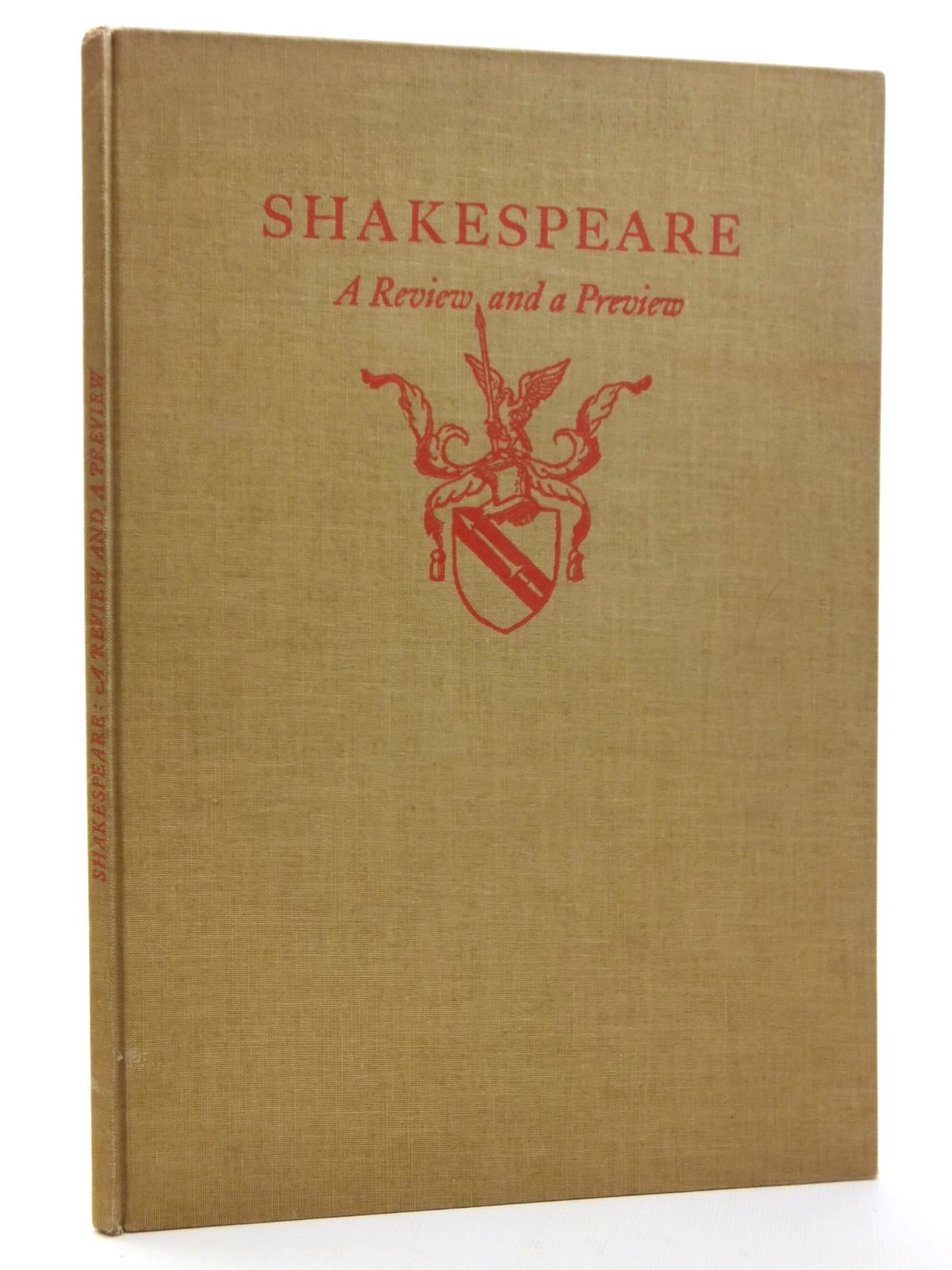 Photo of SHAKESPEARE: A REVIEW AND A PREVIEW- Stock Number: 1814821