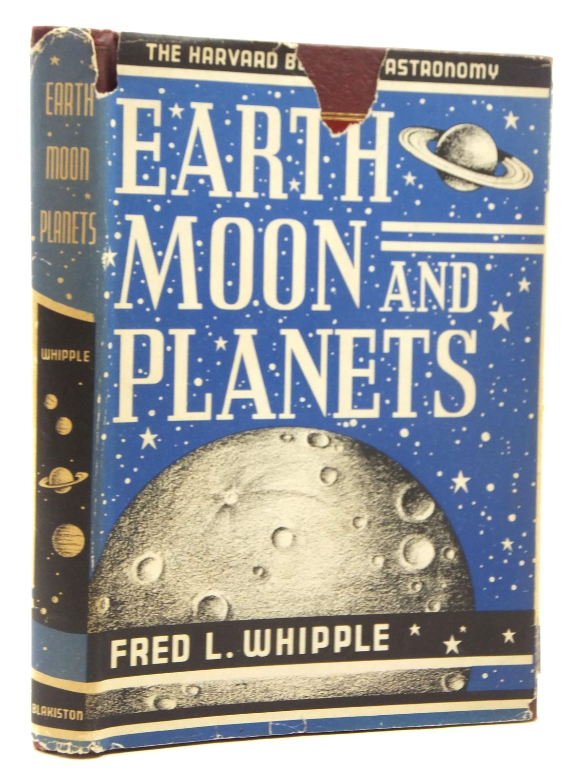 Photo of EARTH, MOON AND PLANETS written by Whipple, Fred L. published by J. & A. Churchill (STOCK CODE: 1814868)  for sale by Stella & Rose's Books