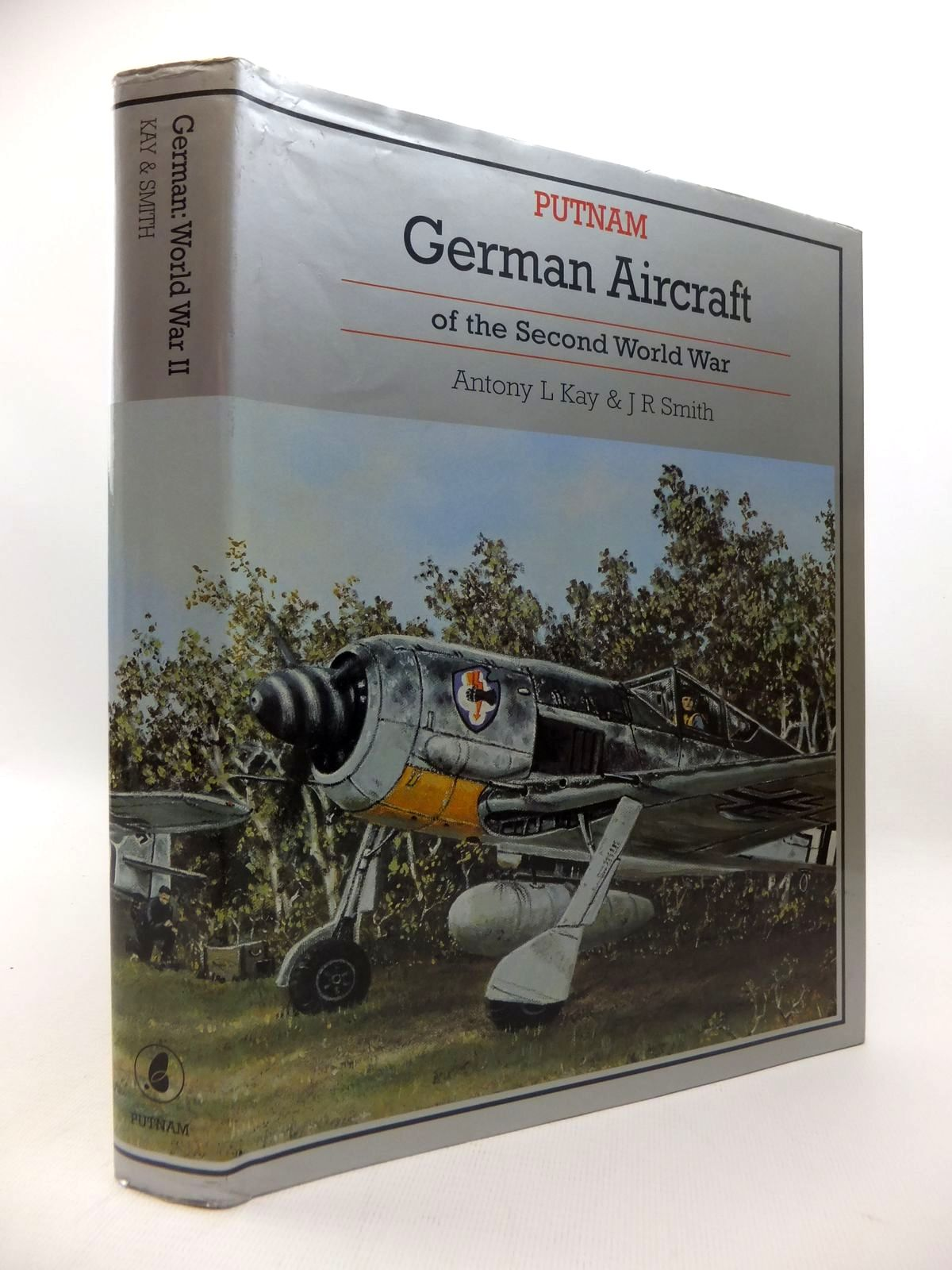 Photo of GERMAN AIRCRAFT OF THE SECOND WORLD WAR (INCLUDING HELICOPTERS AND MISSILES) written by Kay, Antony L. Smith, J.R. illustrated by Creek, E.J. published by Putnam (STOCK CODE: 1815086)  for sale by Stella & Rose's Books