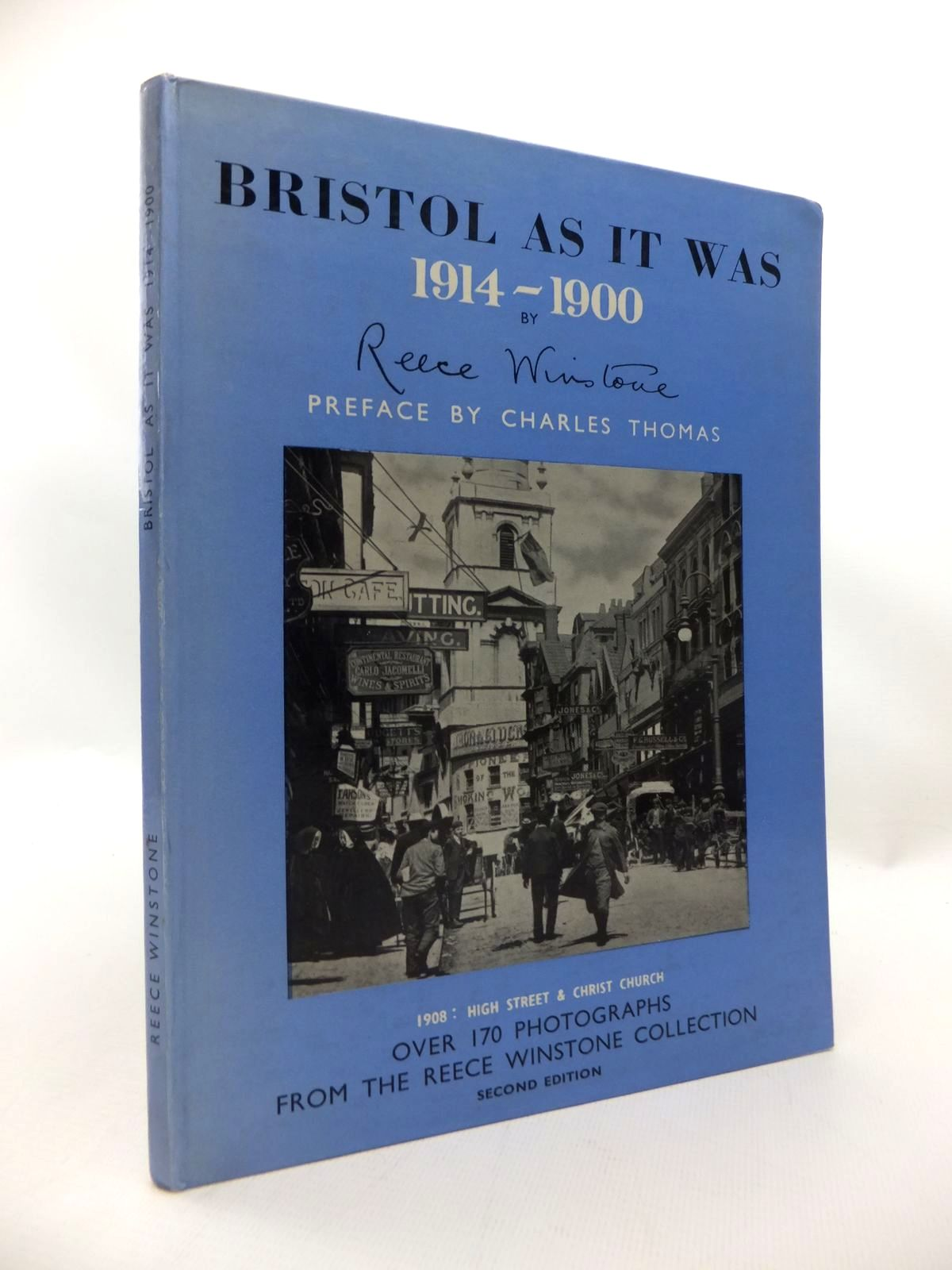 Photo of BRISTOL AS IT WAS 1914-1900 written by Winstone, Reece published by Reece Winstone (STOCK CODE: 1815238)  for sale by Stella & Rose's Books