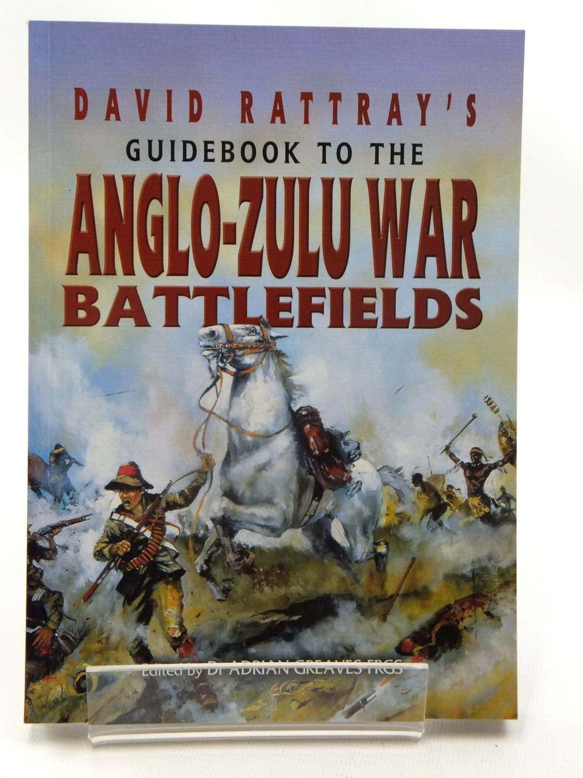 Photo of DAVID RATTRAY'S GUIDEBOOK TO THE ANGLO-ZULU WAR BATTLEFIELDS written by Rattray, David<br />Greaves, Adrian published by Leo Cooper (STOCK CODE: 1815281)  for sale by Stella & Rose's Books