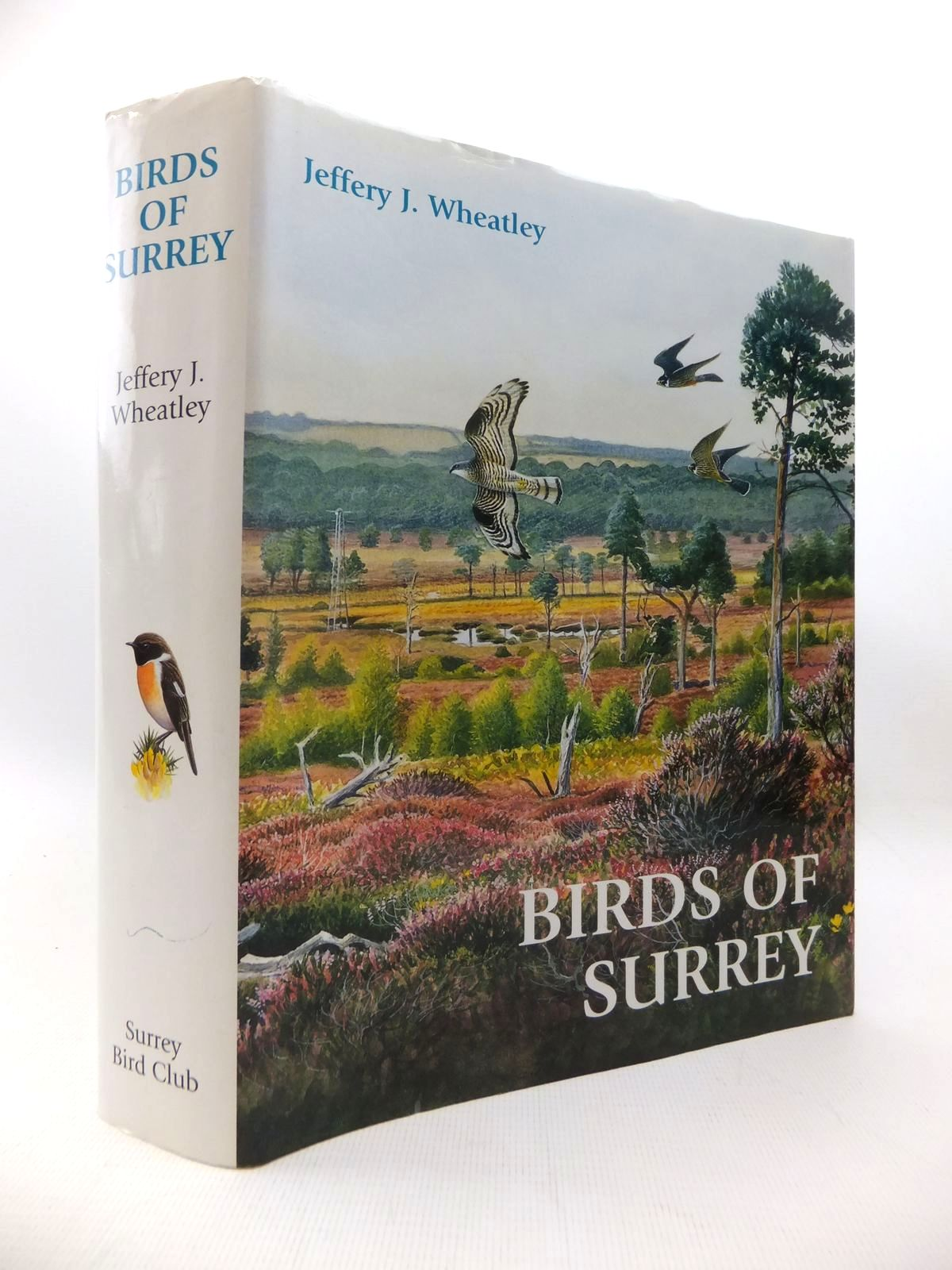Photo of BIRDS OF SURREY written by Wheatley, Jeffery J. illustrated by Davis, John et al.,  published by Surrey Bird Club (STOCK CODE: 1815381)  for sale by Stella & Rose's Books