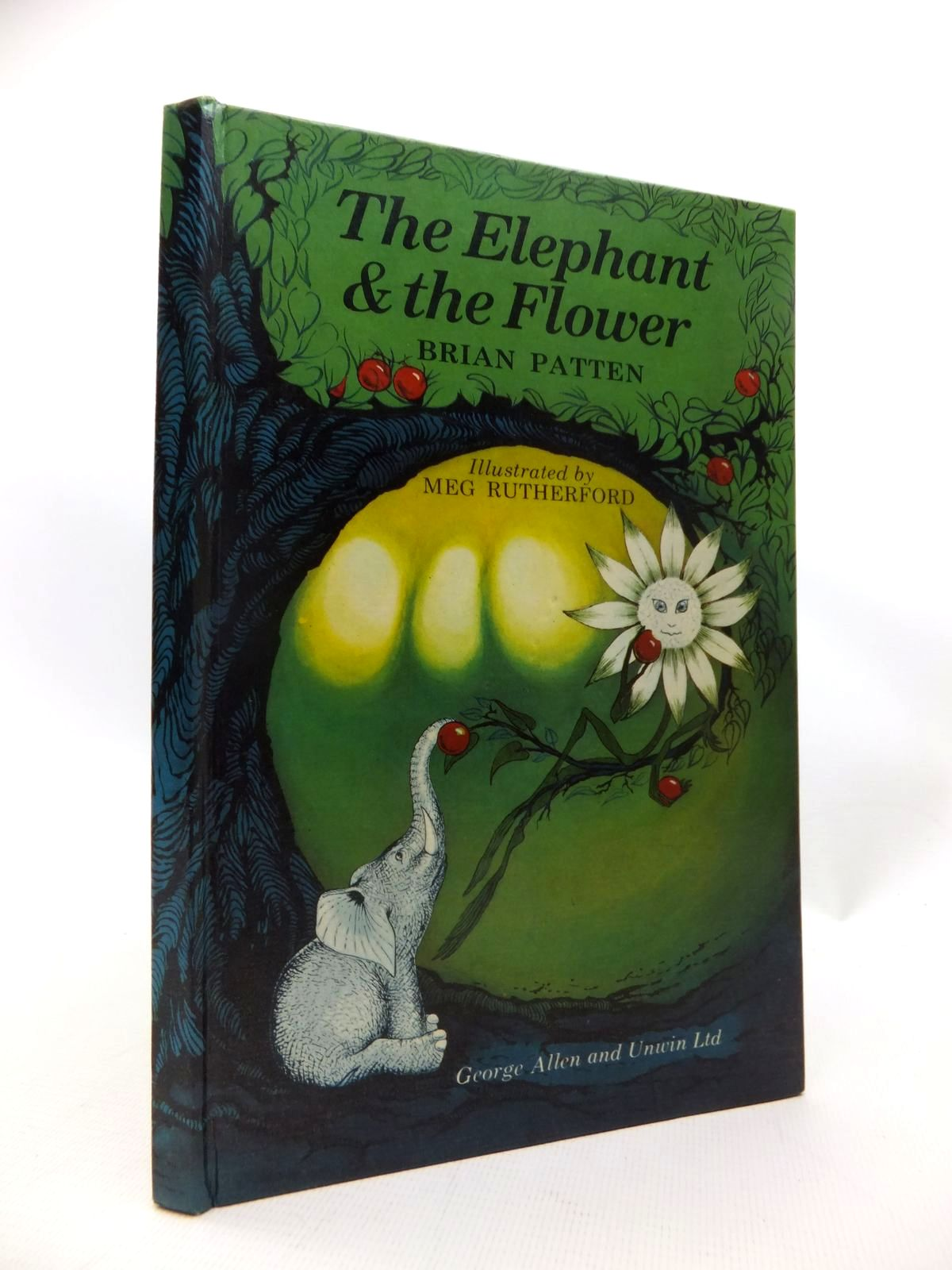 Photo of THE ELEPHANT & THE FLOWER written by Patten, Brian illustrated by Rutherford, Meg published by George Allen & Unwin Ltd. (STOCK CODE: 1815395)  for sale by Stella & Rose's Books
