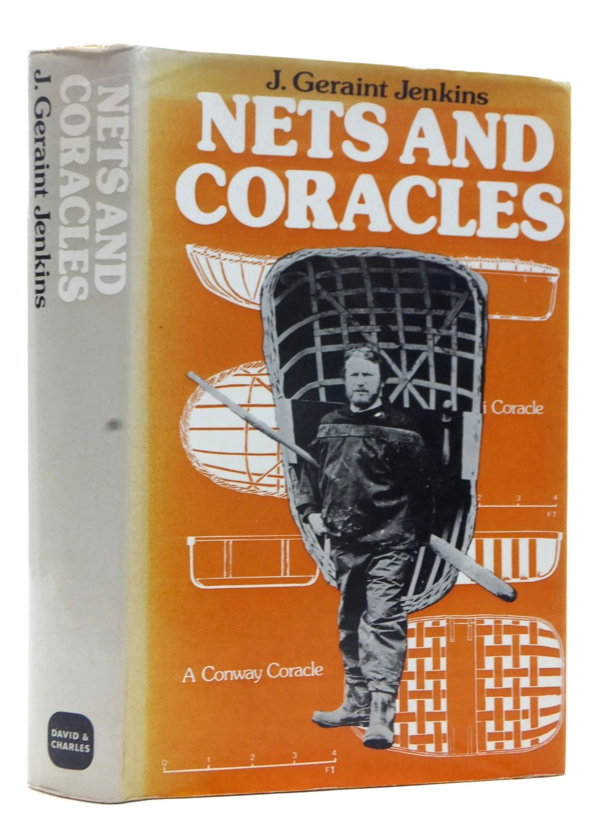 Photo of NETS AND CORACLES written by Jenkins, John Geraint published by David & Charles (STOCK CODE: 1815468)  for sale by Stella & Rose's Books