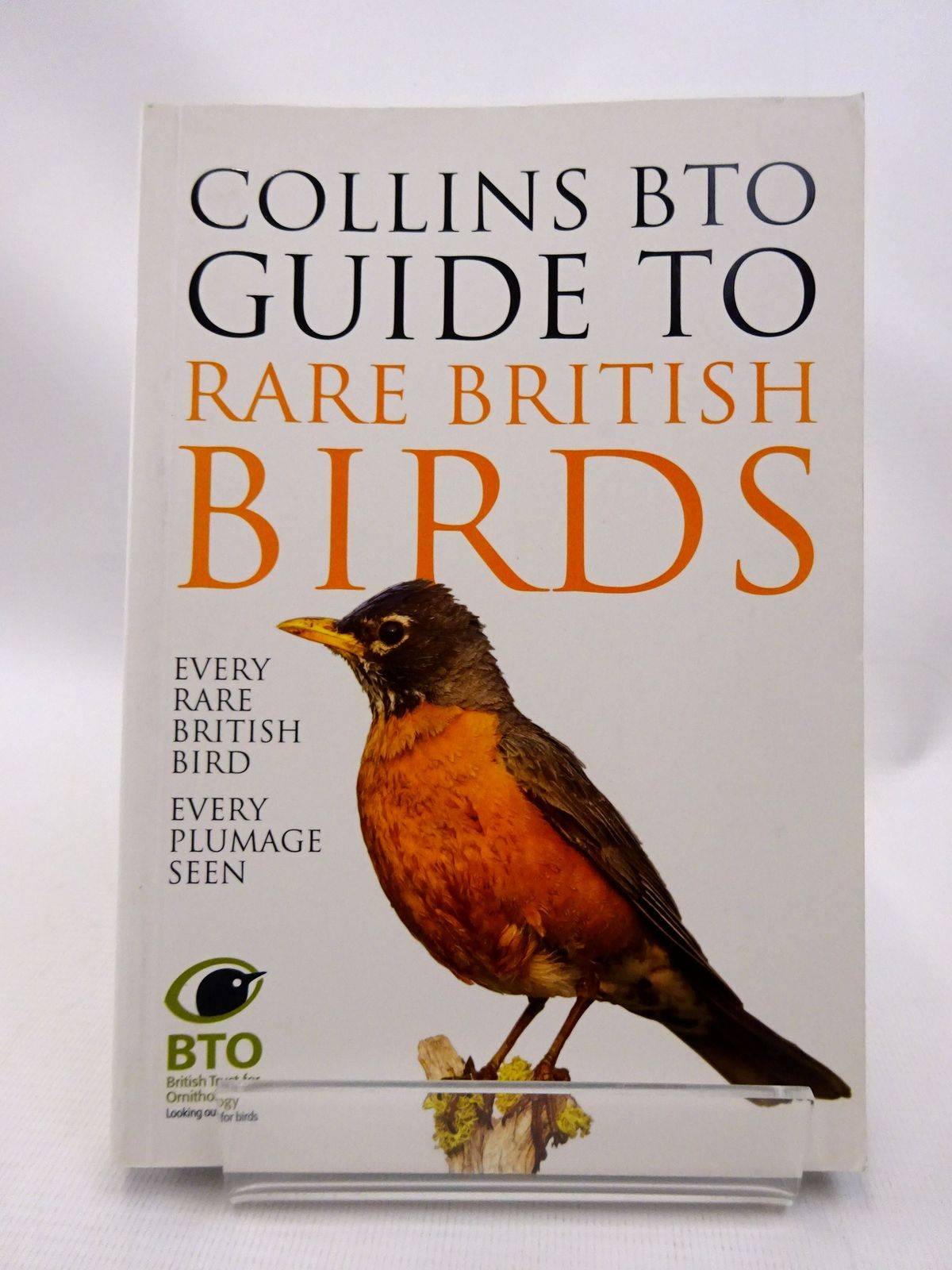 Photo of COLLINS BTO GUIDE TO RARE BRITISH BIRDS- Stock Number: 1815513