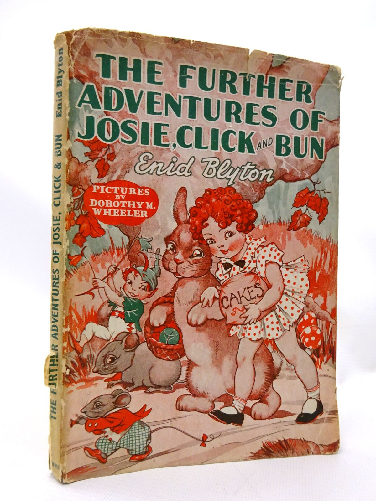Photo of THE FURTHER ADVENTURES OF JOSIE, CLICK AND BUN written by Blyton, Enid illustrated by Wheeler, Dorothy published by George Newnes Ltd. (STOCK CODE: 1815514)  for sale by Stella & Rose's Books