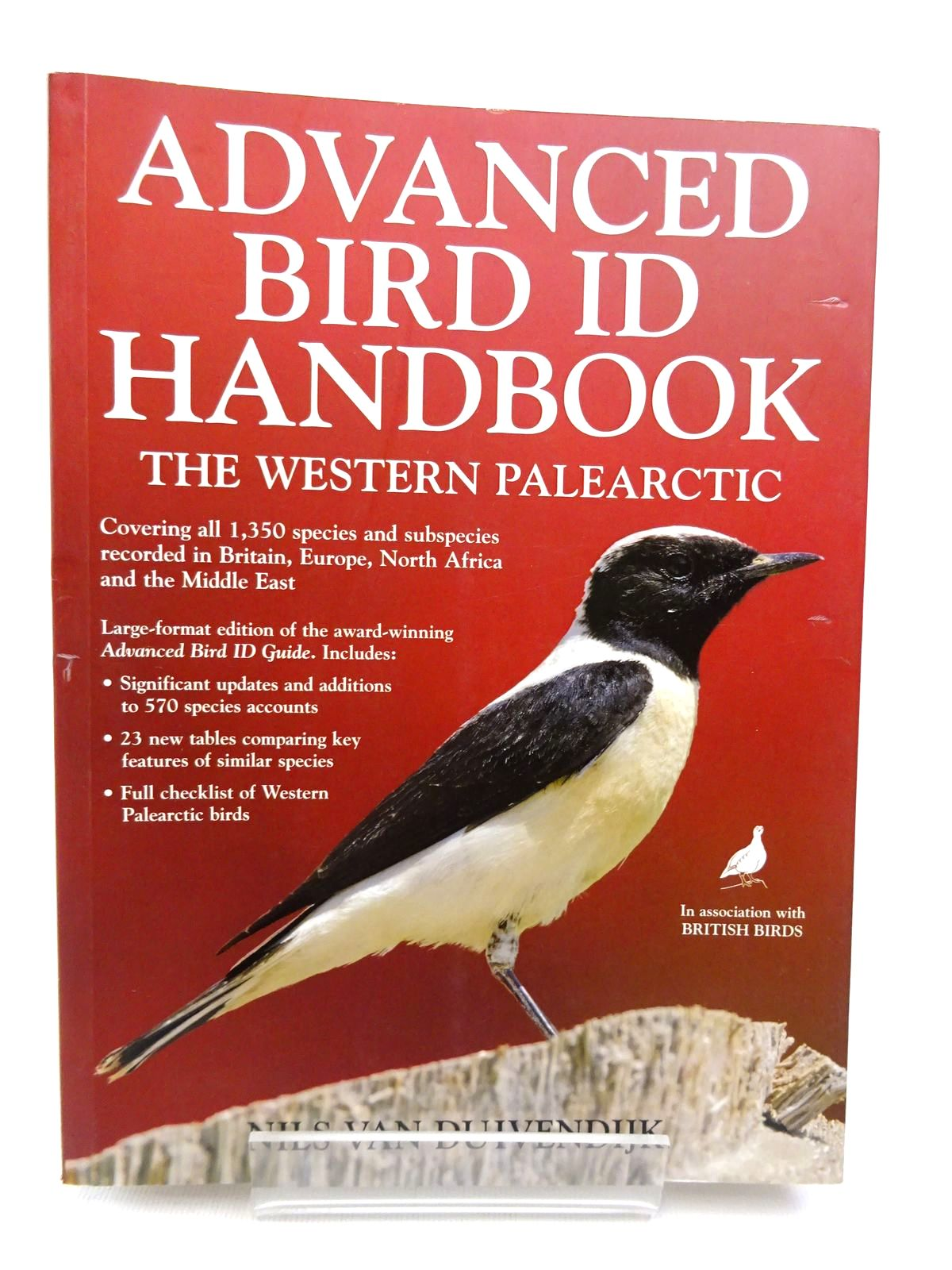 Photo of ADVANCED BIRD ID HANDBOOK: THE WESTERN PALEARCTIC- Stock Number: 1815579